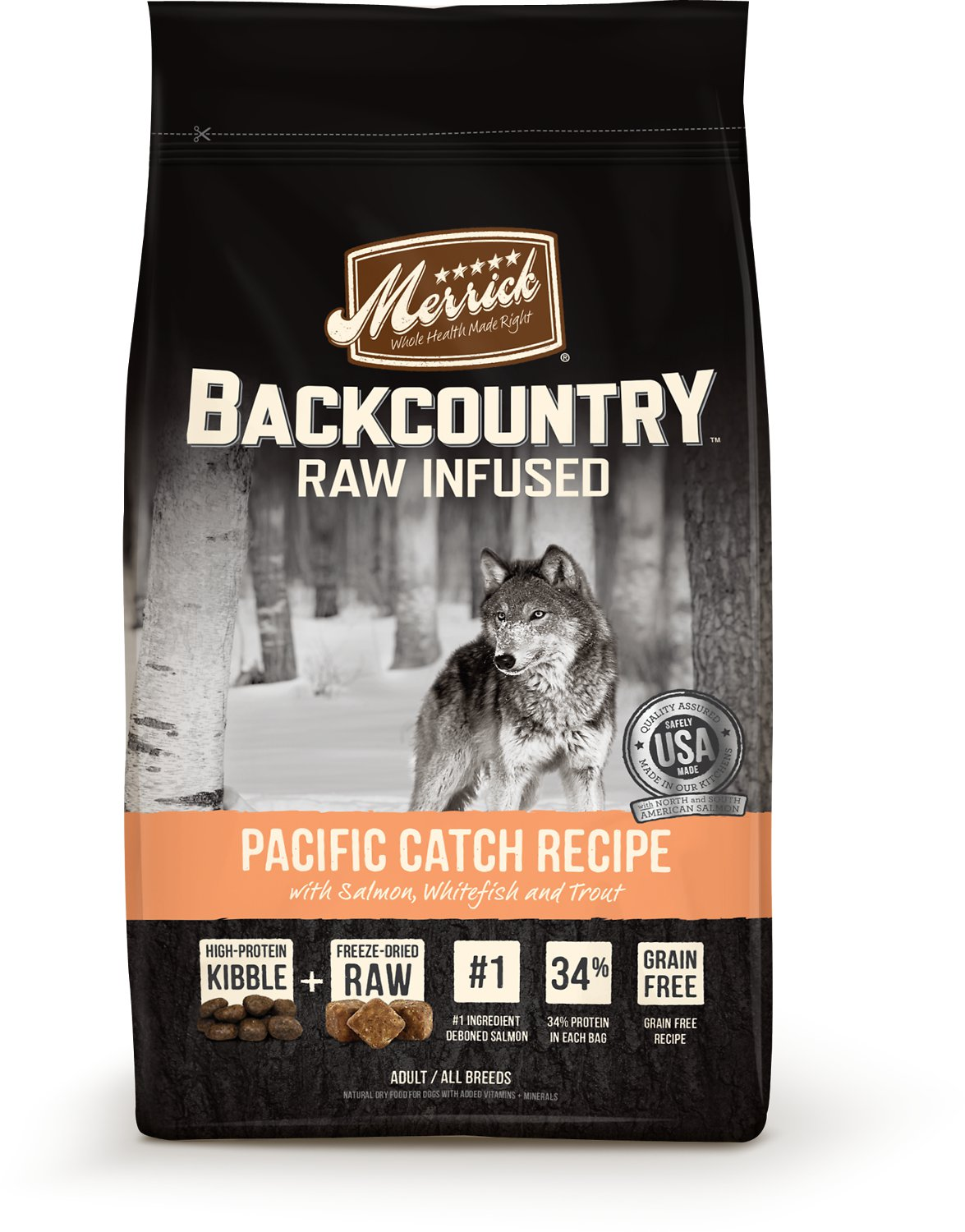 Merrick Backcountry Pacific Catch 22lbs