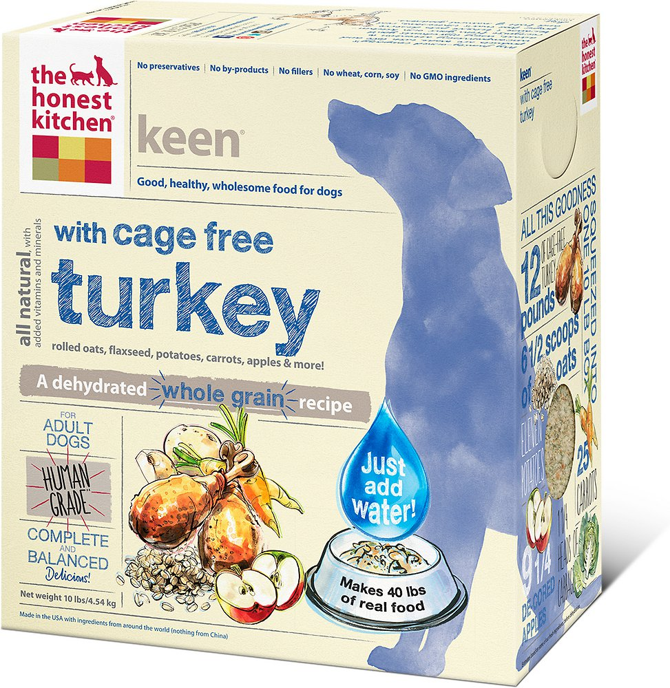 The Honest Kitchen Keen Dehydrated Dog Food 10lbs