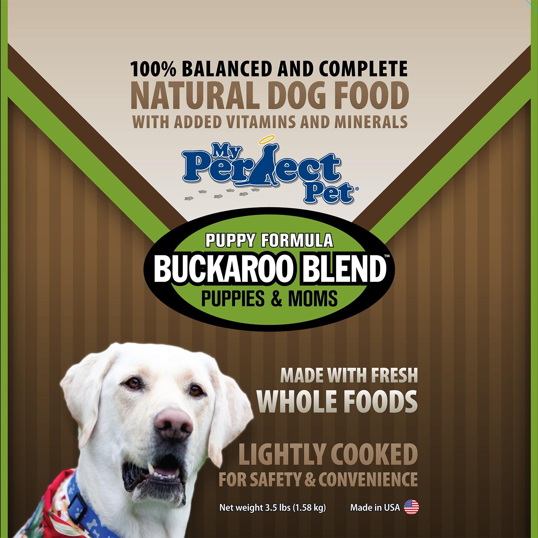 My Perfect Pet Buckaroo Blend Chicken & Beef Frozen Dog Food 3.5lbs