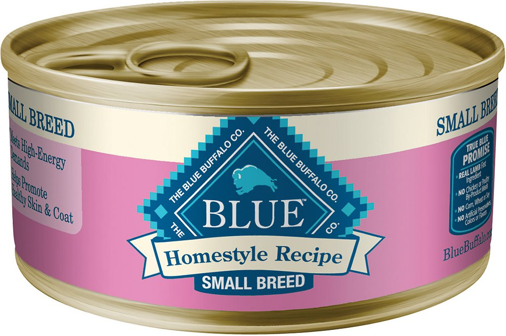 Blue Buffalo Homestyle Recipe Small Breed Chicken Dinner Canned Dog Food 5.5z, 24