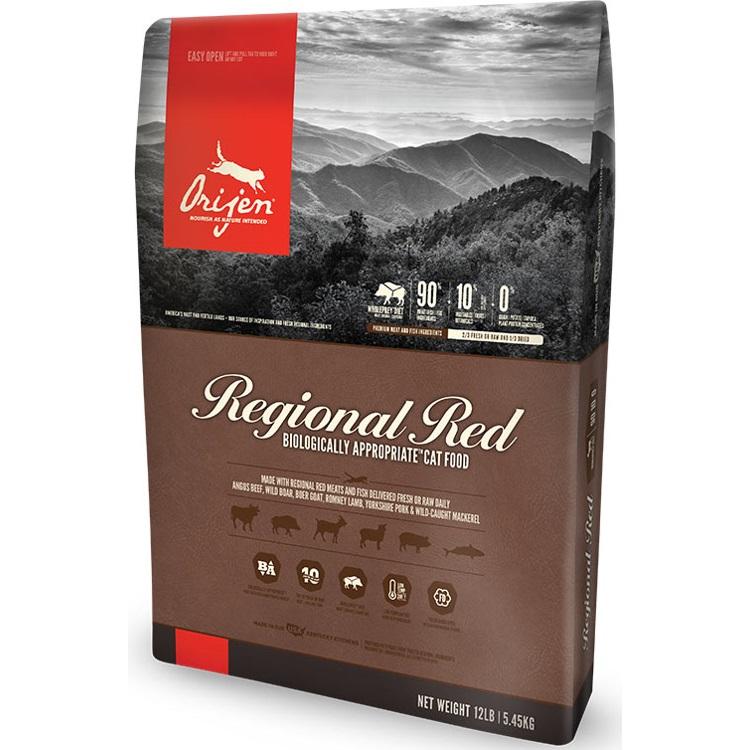 Orijen Regional Red Grain-Free Dry Cat Food 12lbs