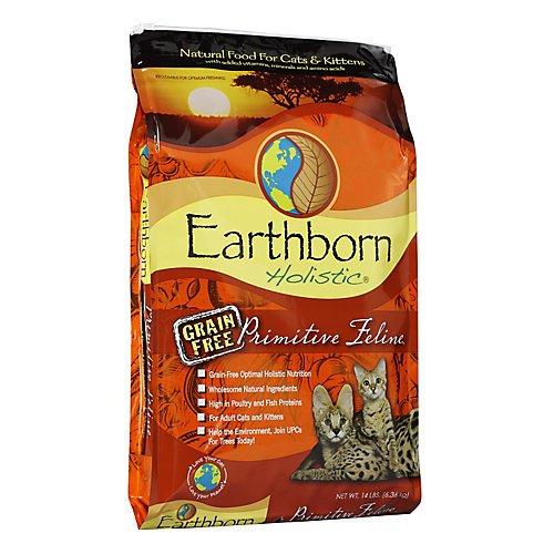Earthborn Holistic Primitive Feline Grain-Free Natural Dry Cat & Kitten Food 14lbs