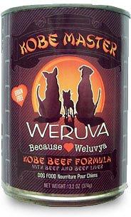 Weruva Kobe Master Kobe Beef Formula Grain-Free Canned Dog Food 13.2z, 12