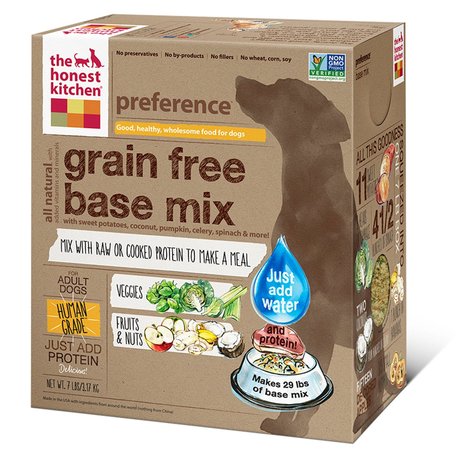 The Honest Kitchen Preference Dehydrated Dog Base Mix 3lbs