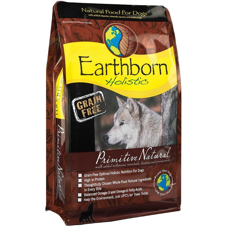 Earthborn Holistic Primitive Natural Grain-Free Natural Dry Dog Food 5lbs