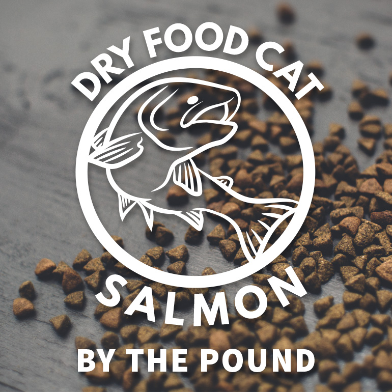 CAT Naked Salmon Dry Food By the Pound Grain-Free