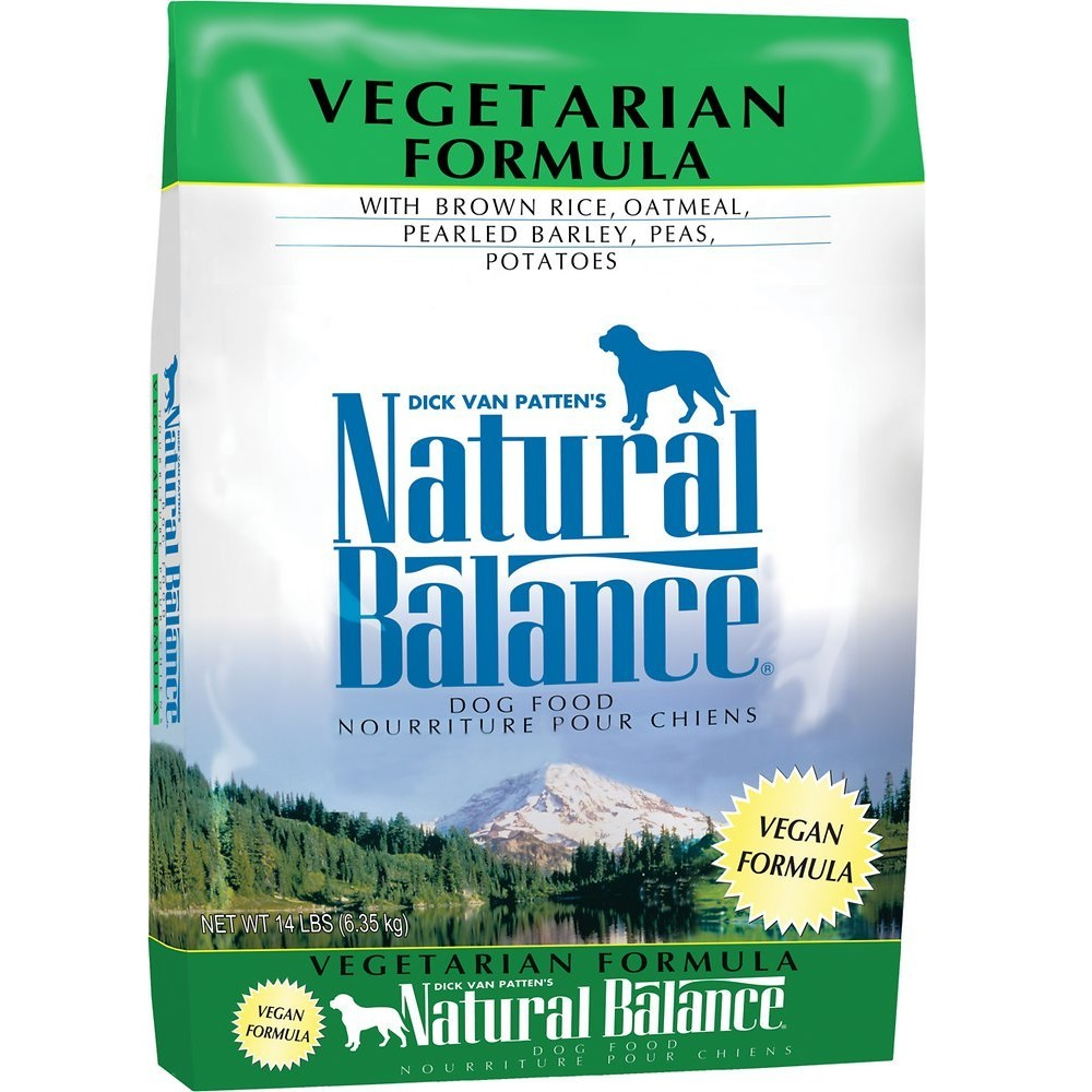 Natural Balance Vegetarian Formula Dry Dog Food 14lbs