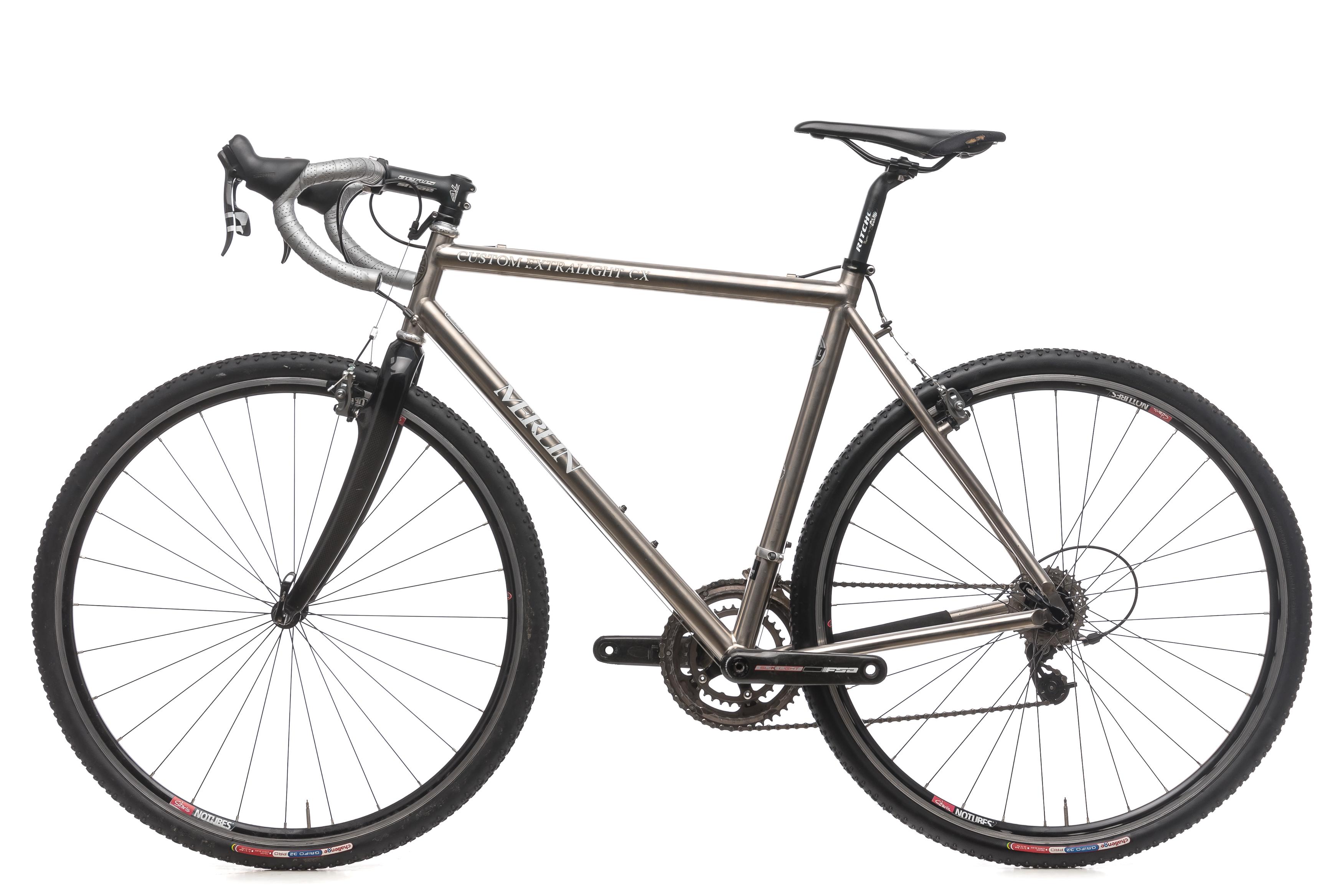 Bicicleta de ciclocross Merlin Personalizado Extralight CX 54cm