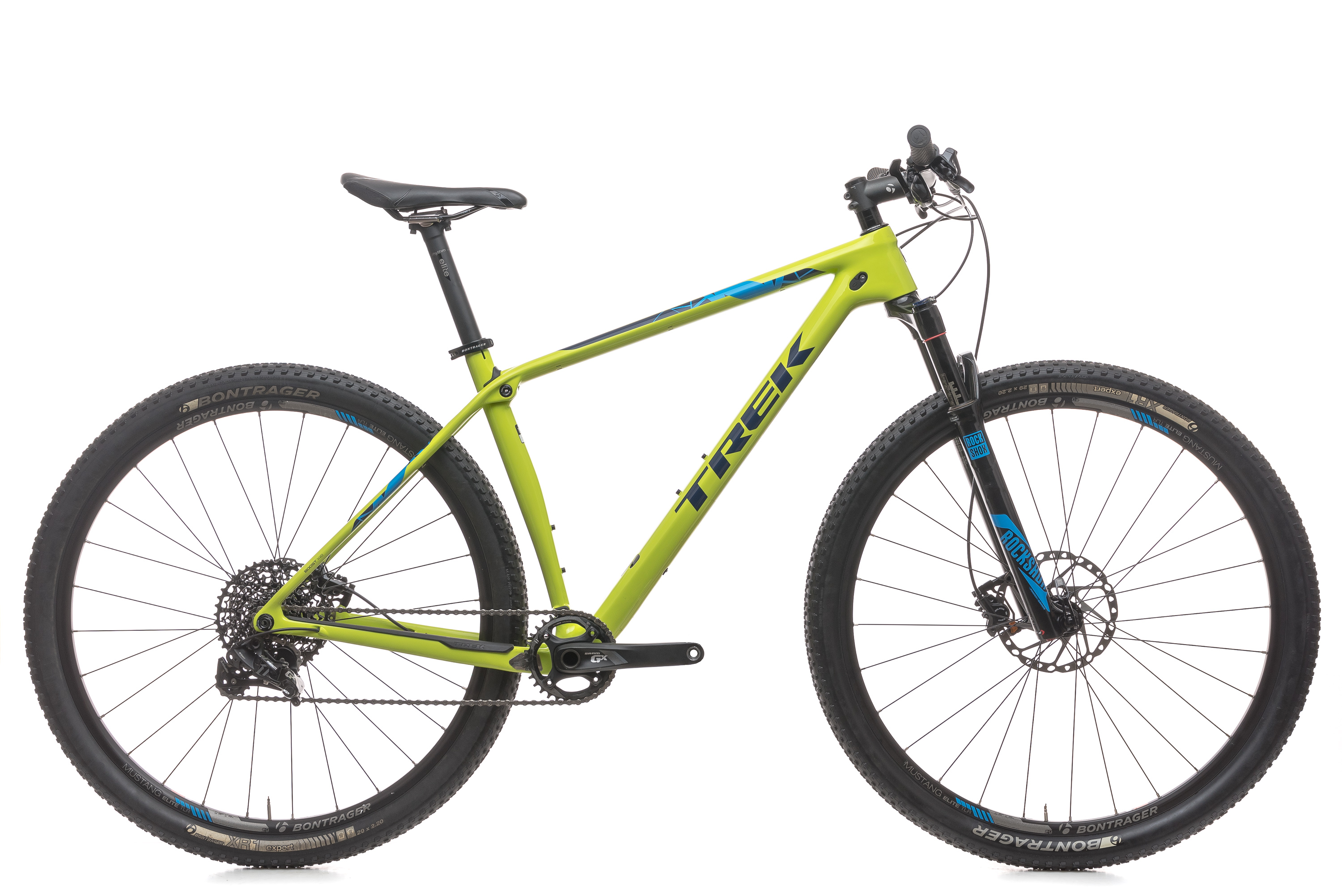 4b5abf1da 2016 Trek Pro Caliber 9.7 Mountain Bike 19.5in Large Carbon RockShox SRAM