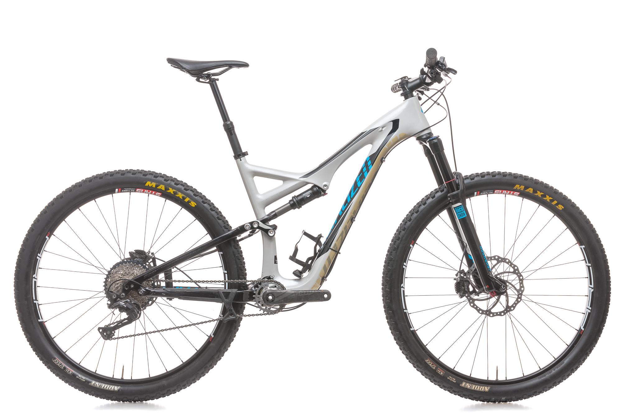 6365c40edc3 2015 Specialized Stumpjumper FSR Expert Carbon 29 Mountain Bike Large  Shimano