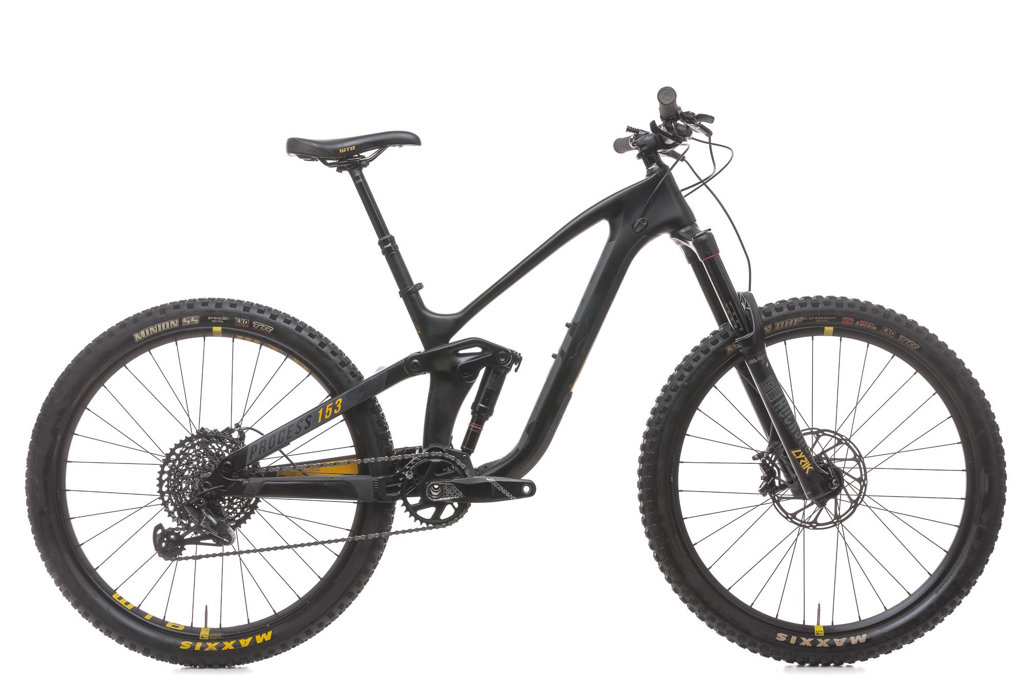 2018 Kona Process 153 Cr Mountain Bike Small 27 5 Carbon Sram Gx1