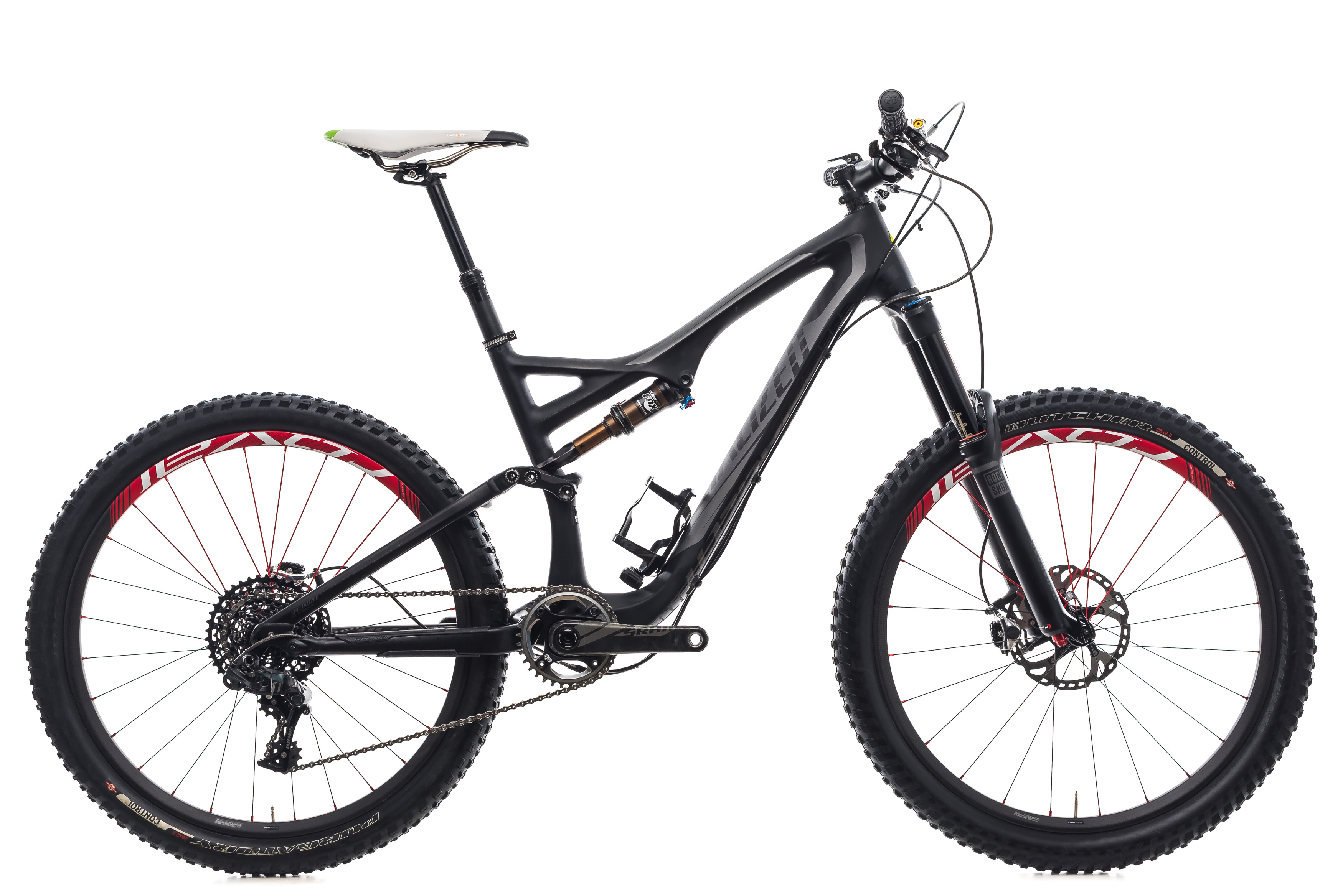 ced158fadc3 Details about 2014 Specialized Stumpjumper FSR Expert Carbon Evo Medium 26
