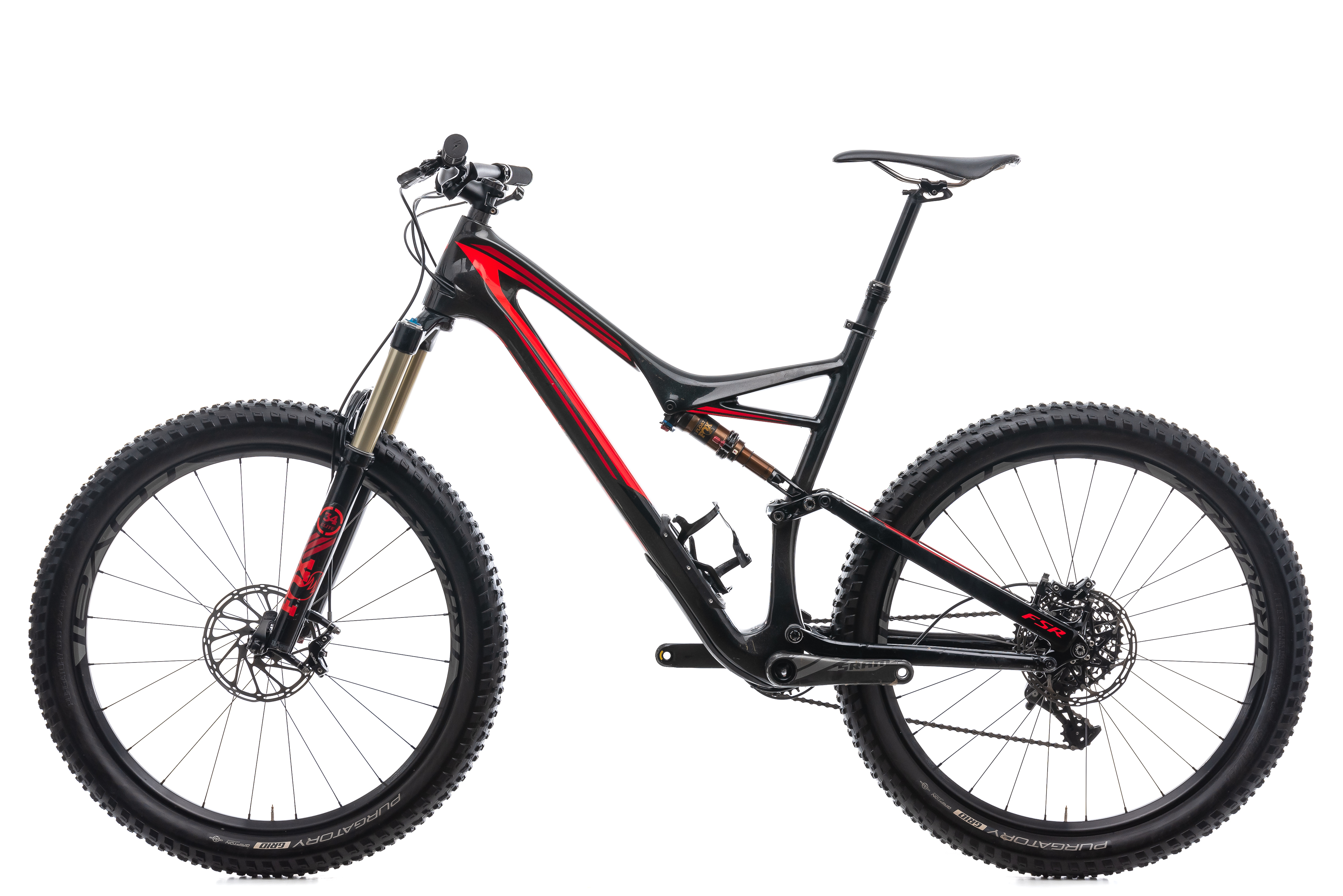 747df947371 2016 Specialized Stumpjumper FSR Expert 6Fattie Mountain Bike X-Large 27.5