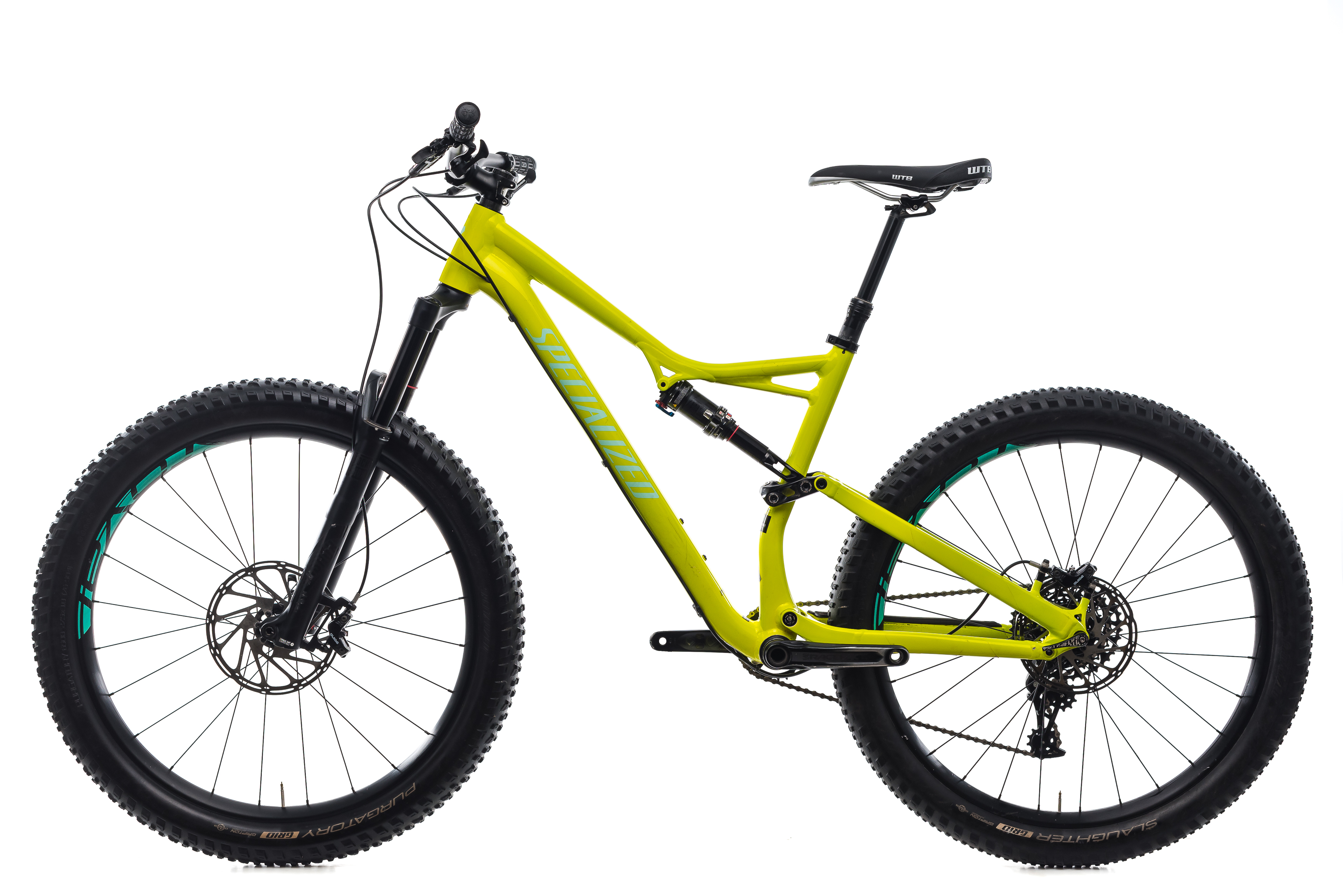 Details about 2018 Specialized Stumpjumper FSR Comp 6Fattie Mountain Bike  Large 27 5 SRAM GX