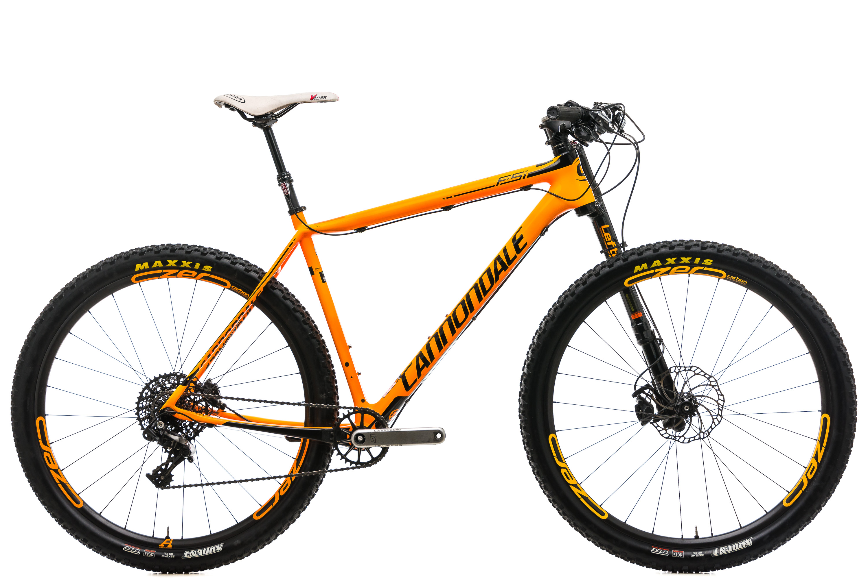 """2016 Cannondale F-Si Carbon 2 Mountain Bike X-Large 29/"""" SRAM X01 11s Lefty"""