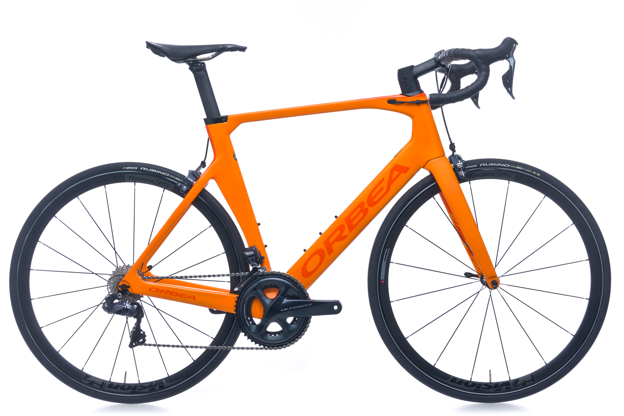 10f44fb80 Details about 2018 Orbea Orca Aero M20i Team Road Bike 57cm Large Carbon  Shimano Ultegra Di2