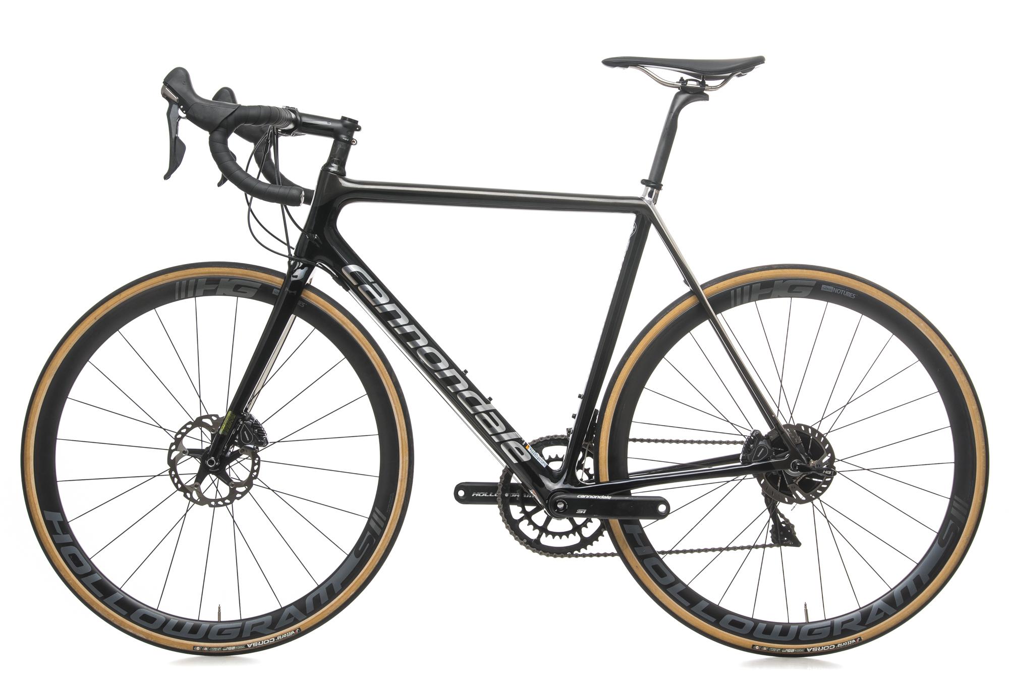 bdd2efdb5a7 2018 Cannondale SuperSix EVO Hi-Mod Disc Road Bike 56cm Large Carbon Dura- Ace