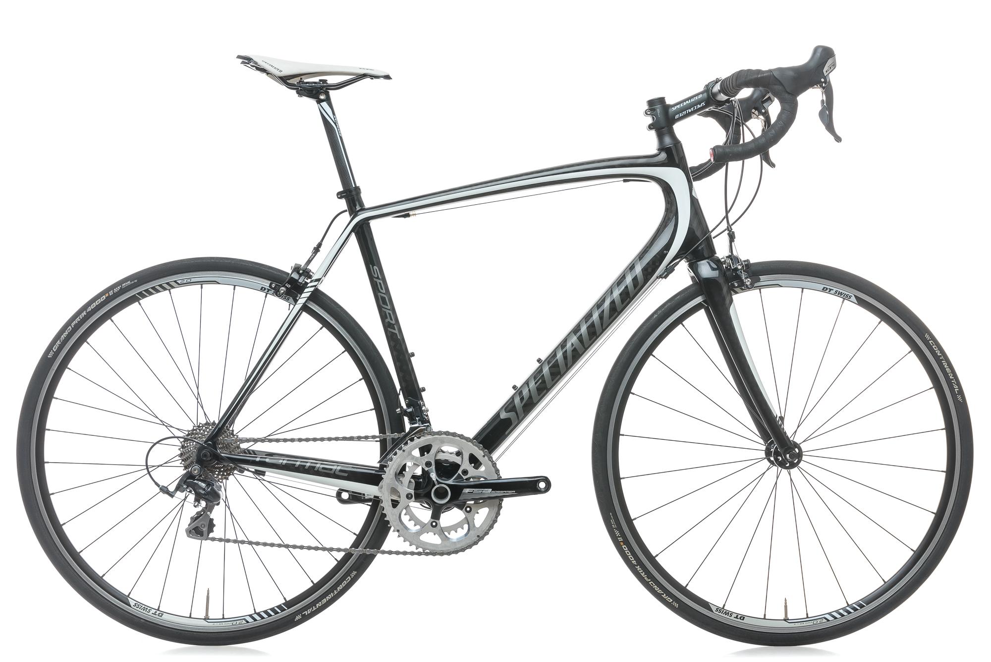 2013 Specialized Tarmac Sport Road Bike 58cm Carbon Shimano 105 10 Speed