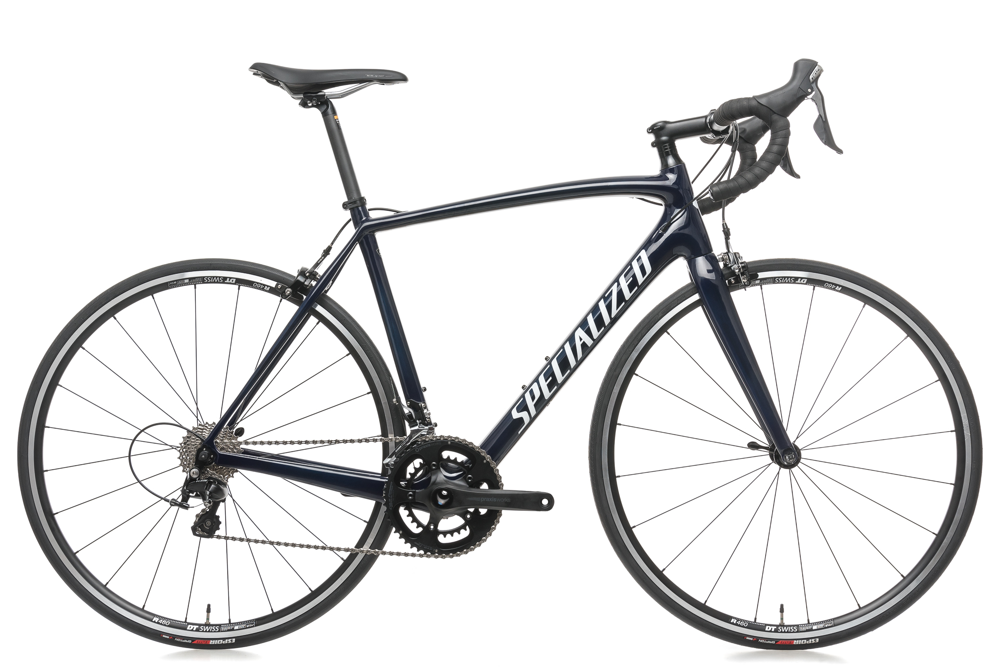 2018 Specialized Tarmac Sport Road Bike 56cm Large Carbon Shimano 105 11 Speed