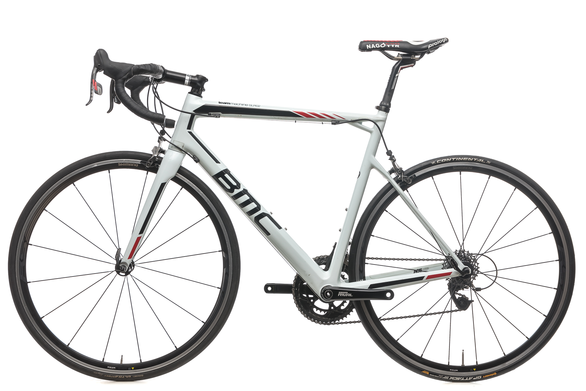 a989d679d26 2016 BMC Teammachine SLR02 Road Bike 57cm Carbon SRAM Red 10s Shimano RS330