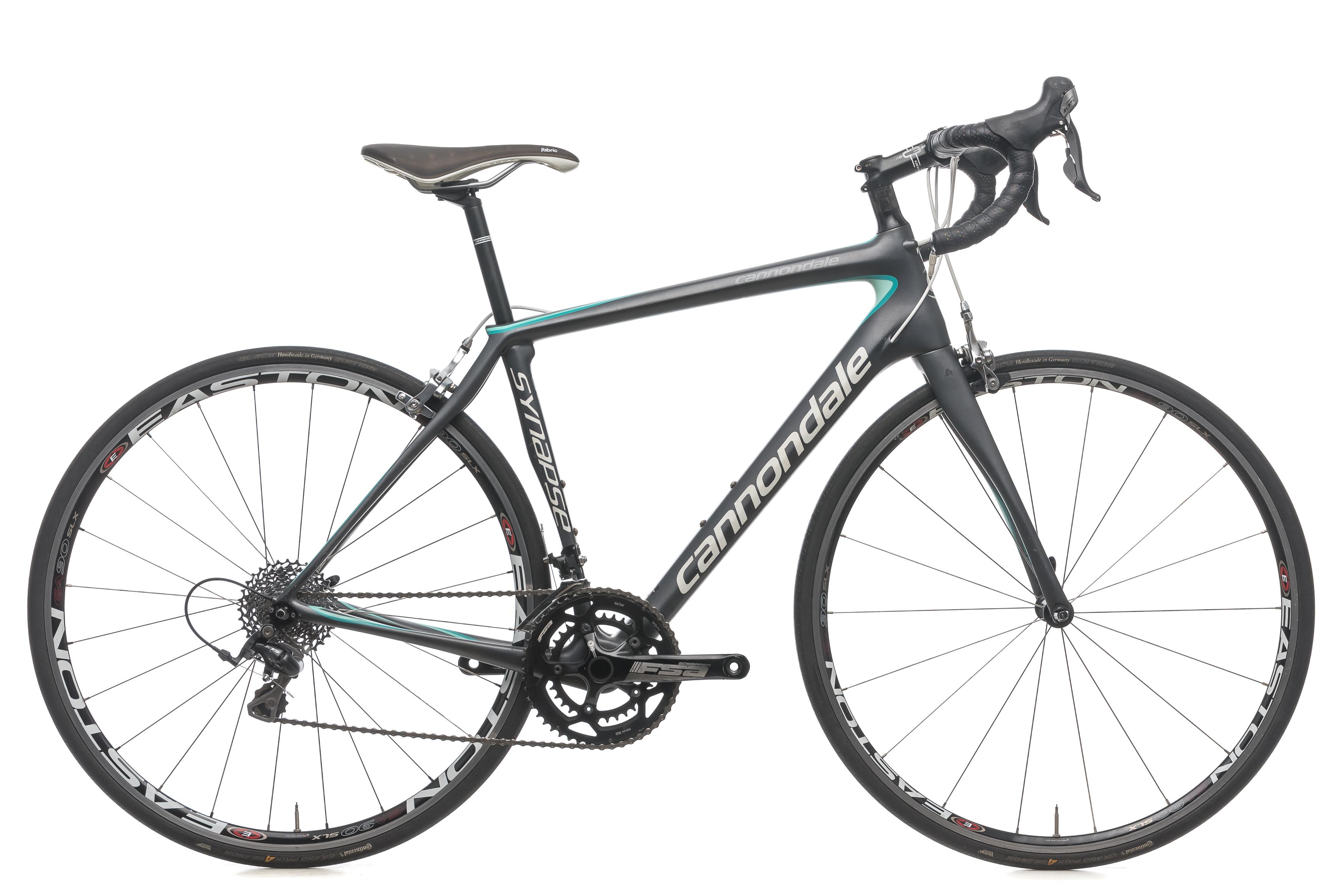 ca7d86c78c7 2015 Cannondale Synapse 6 105 Womens Road Bike 54cm Medium Carbon Shimano  5700