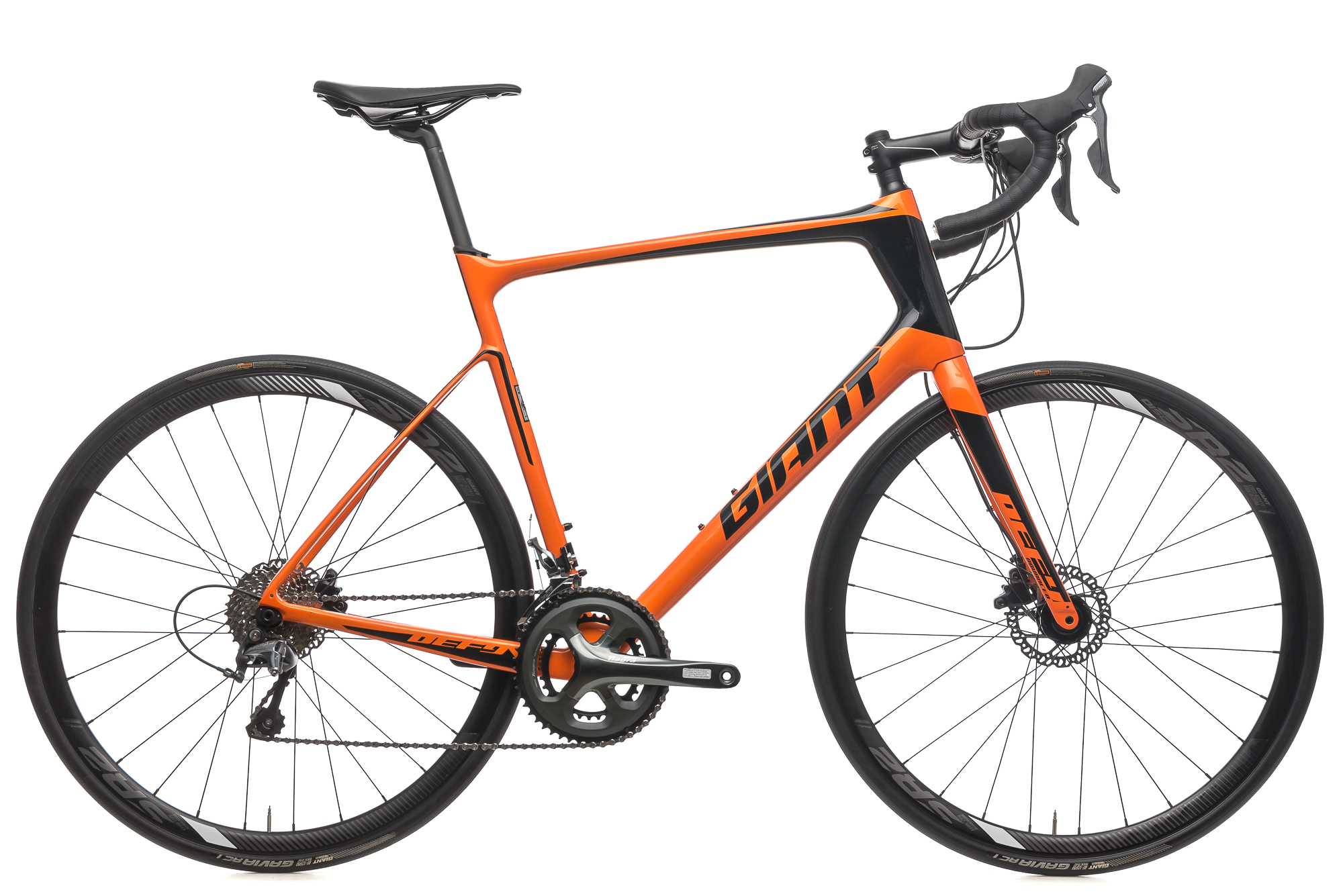 505198fb493 2018 Giant Defy Advanced 3 Road Bike X-Large Carbon Shimano Tiagra 10 Speed