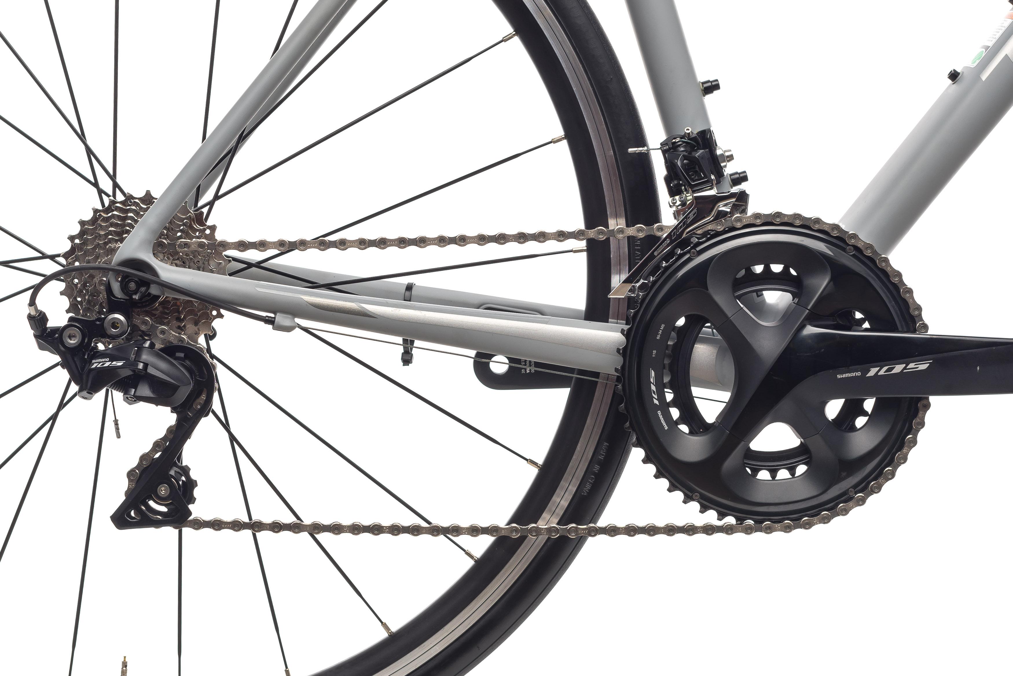 9ca9416ddba 2019 Trek Emonda ALR 5 Road Bike 54cm Aluminum Shimano 105 7000 11s  Bontrager