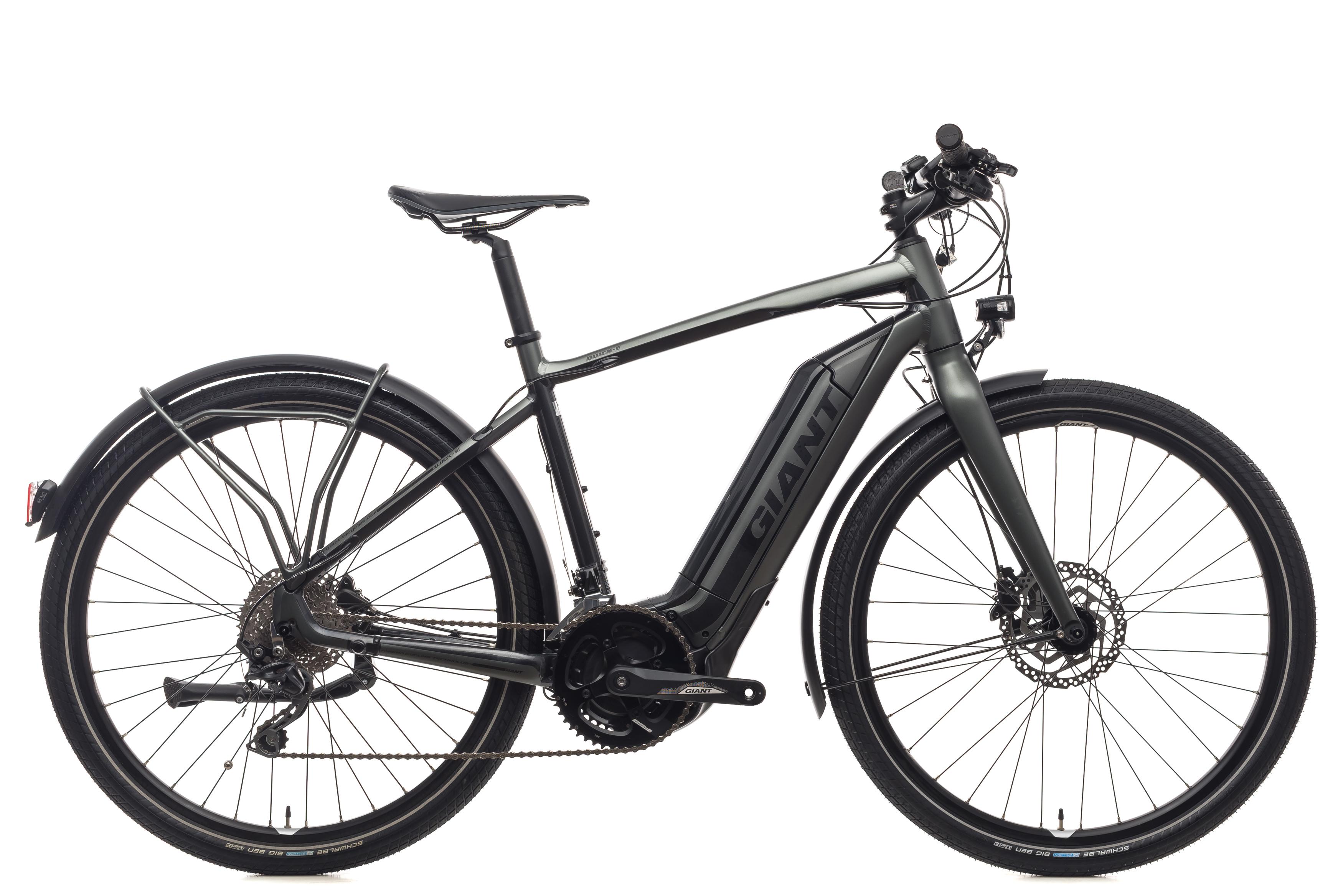 Electric Commuter Bike >> 2018 Giant Quick E Electric Commuter Bike Medium 27 5 Alloy