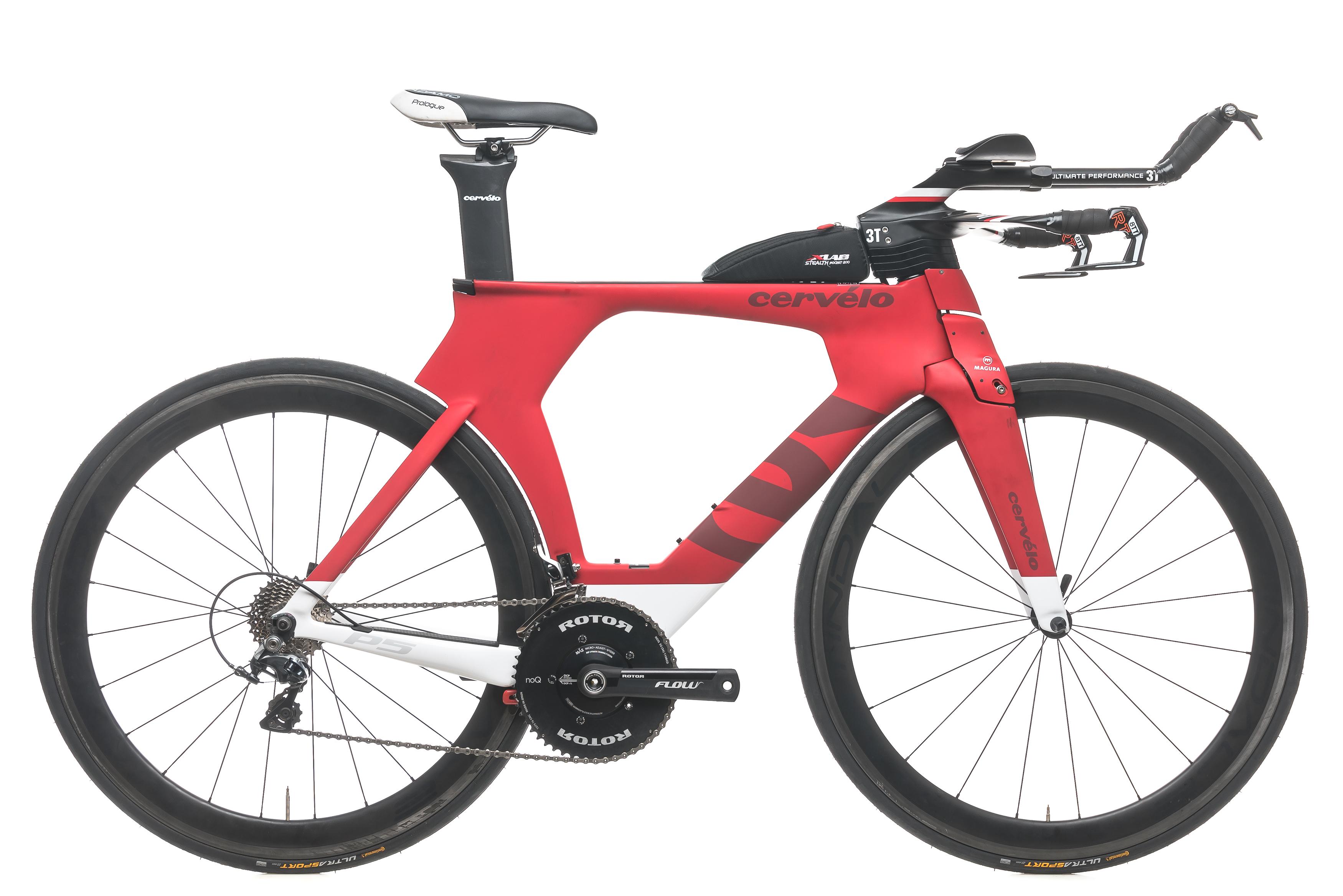 a26a51c0781 2015 Cervelo P5 Six Time Trial Bike 54cm Medium Carbon Shimano Dura-Ace  9000 11s