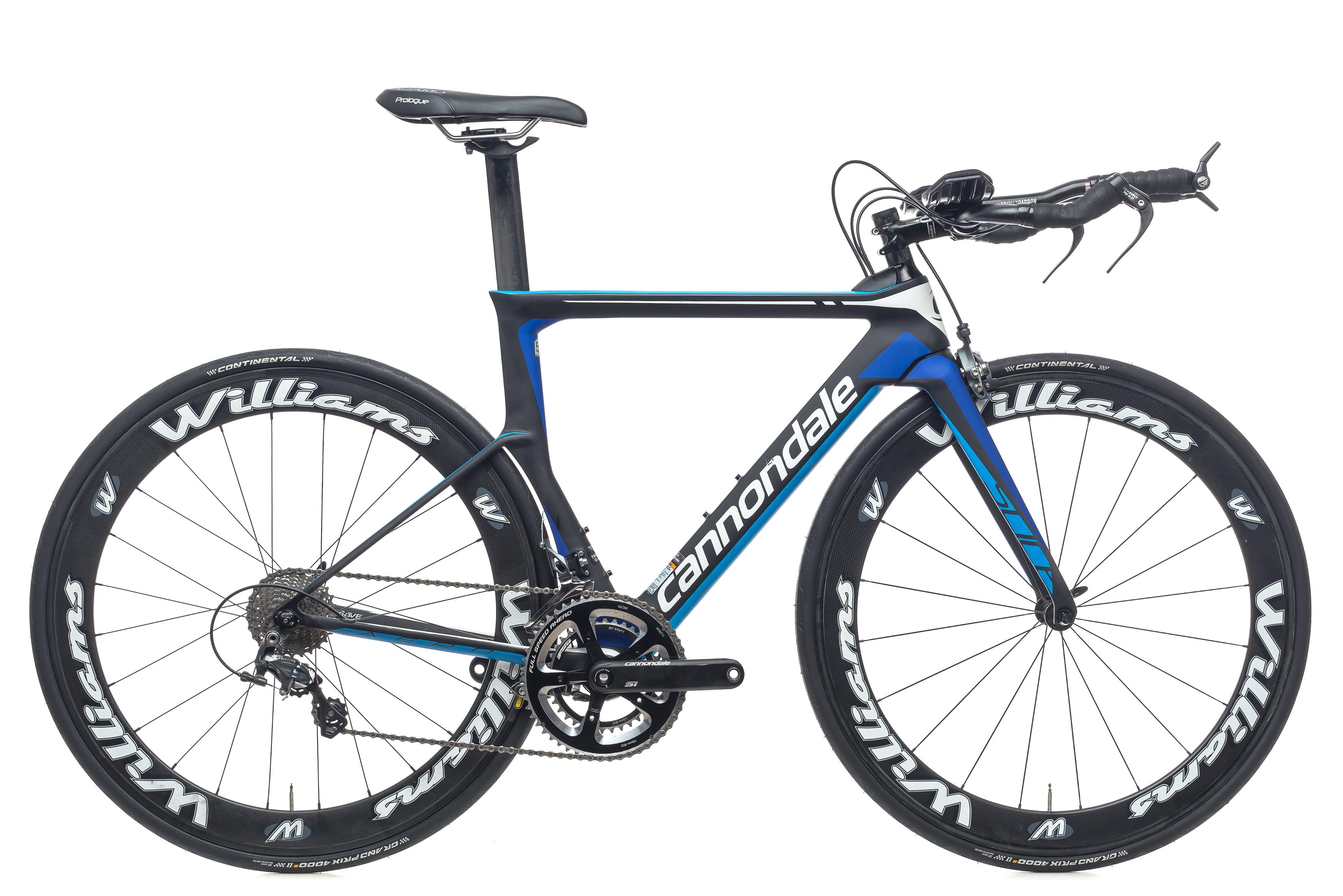 a66ef32cd43 2016 Cannondale Slice Ultegra TT Triathlon Bike 51cm Carbon Shimano 11s  Williams