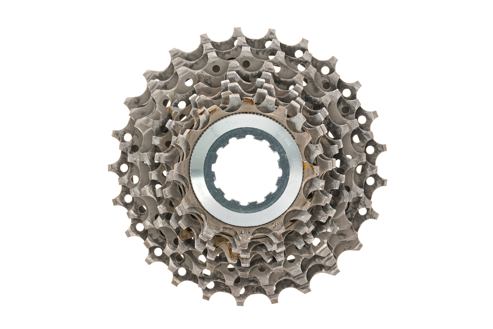 8ff7548c7a1 Details about Shimano Ultegra CS-6700 Cassette 10 Speed 12-25T - Good