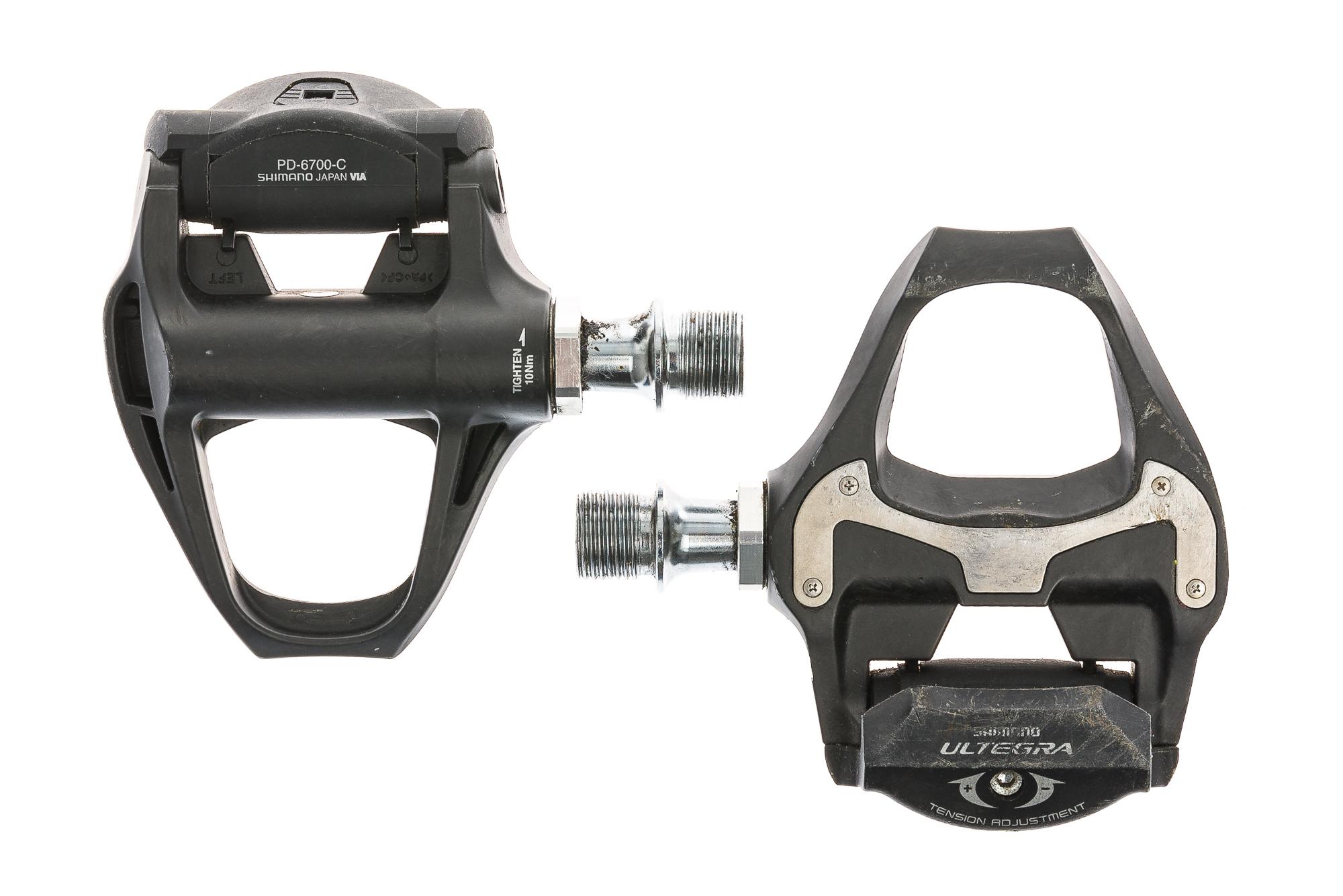 fa61fb479e3 Shimano Ultegra PD-6700-C Pedals Clipless Black - Good | eBay
