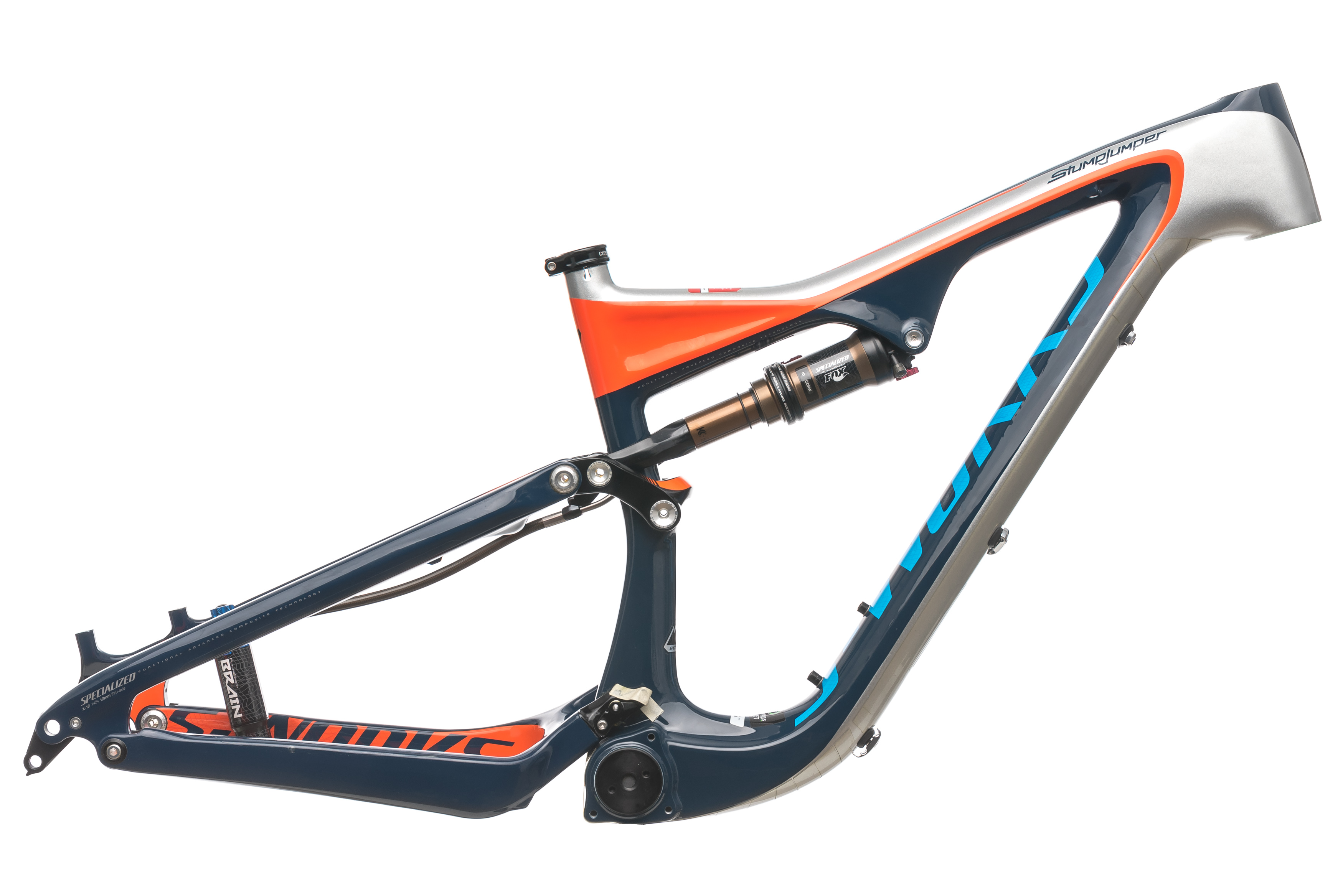 f9f536e298c 2013 Specialized S-Works Stumpjumper FSR Carbon Mountain Bike Frame Small