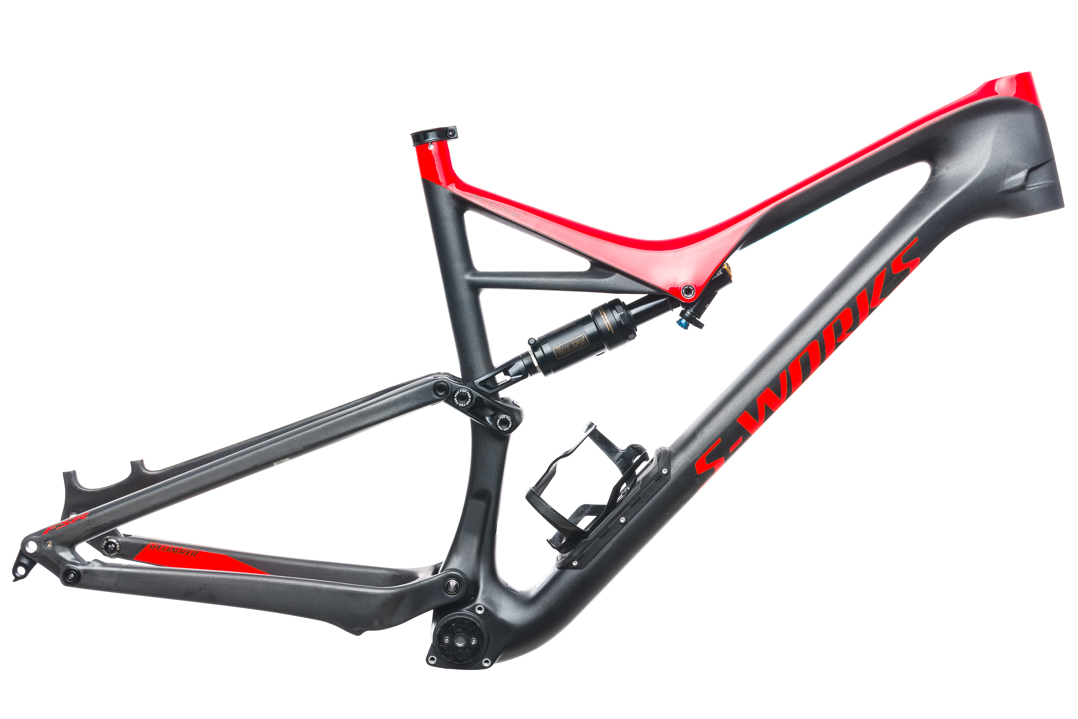 f3b4b8cb98e 2017 Specialized S-Works Stumpjumper FSR 29 Mountain Frame Set X-Large 29