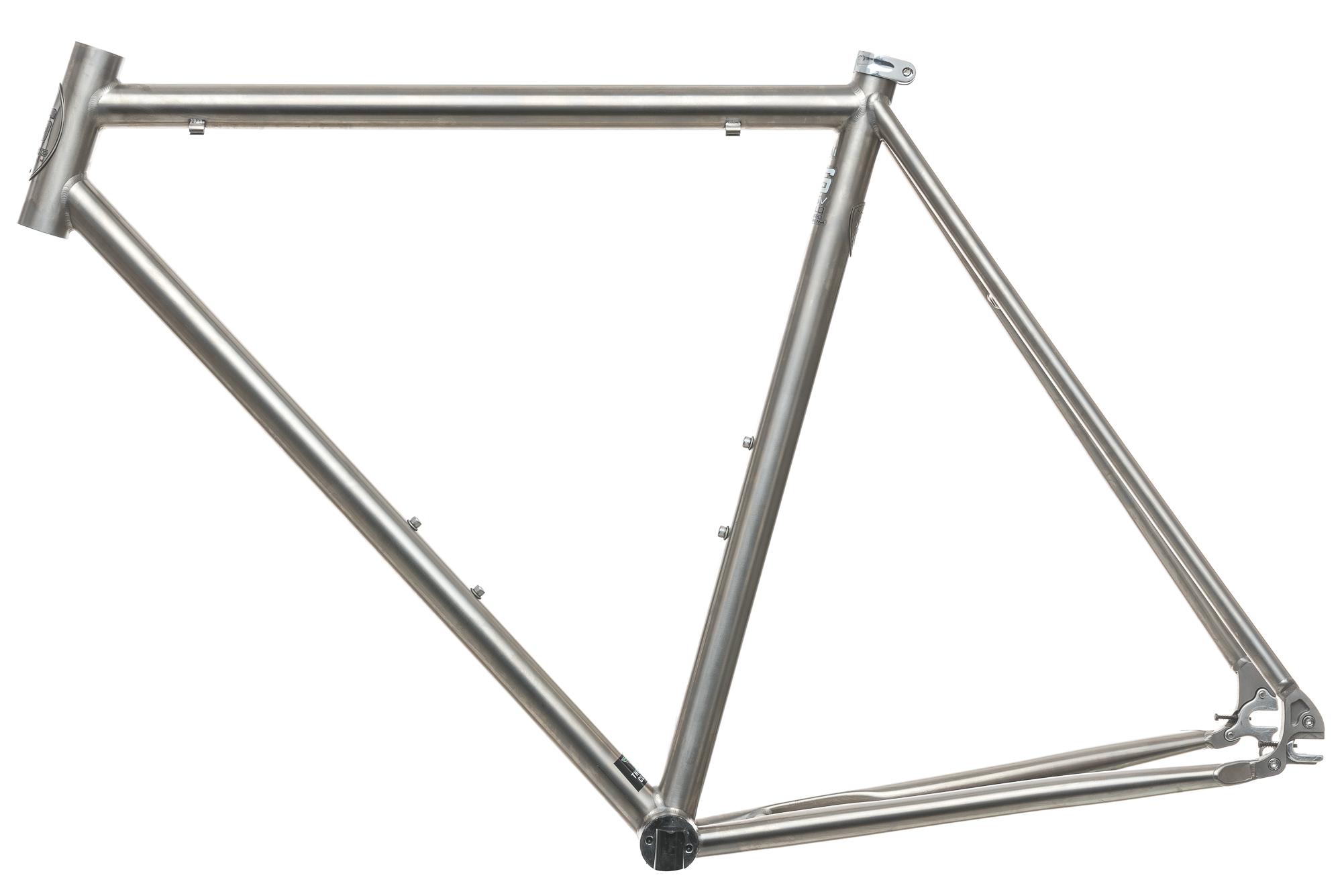 Litespeed Titanium Track Frame 55cm Medium Single Speed | eBay