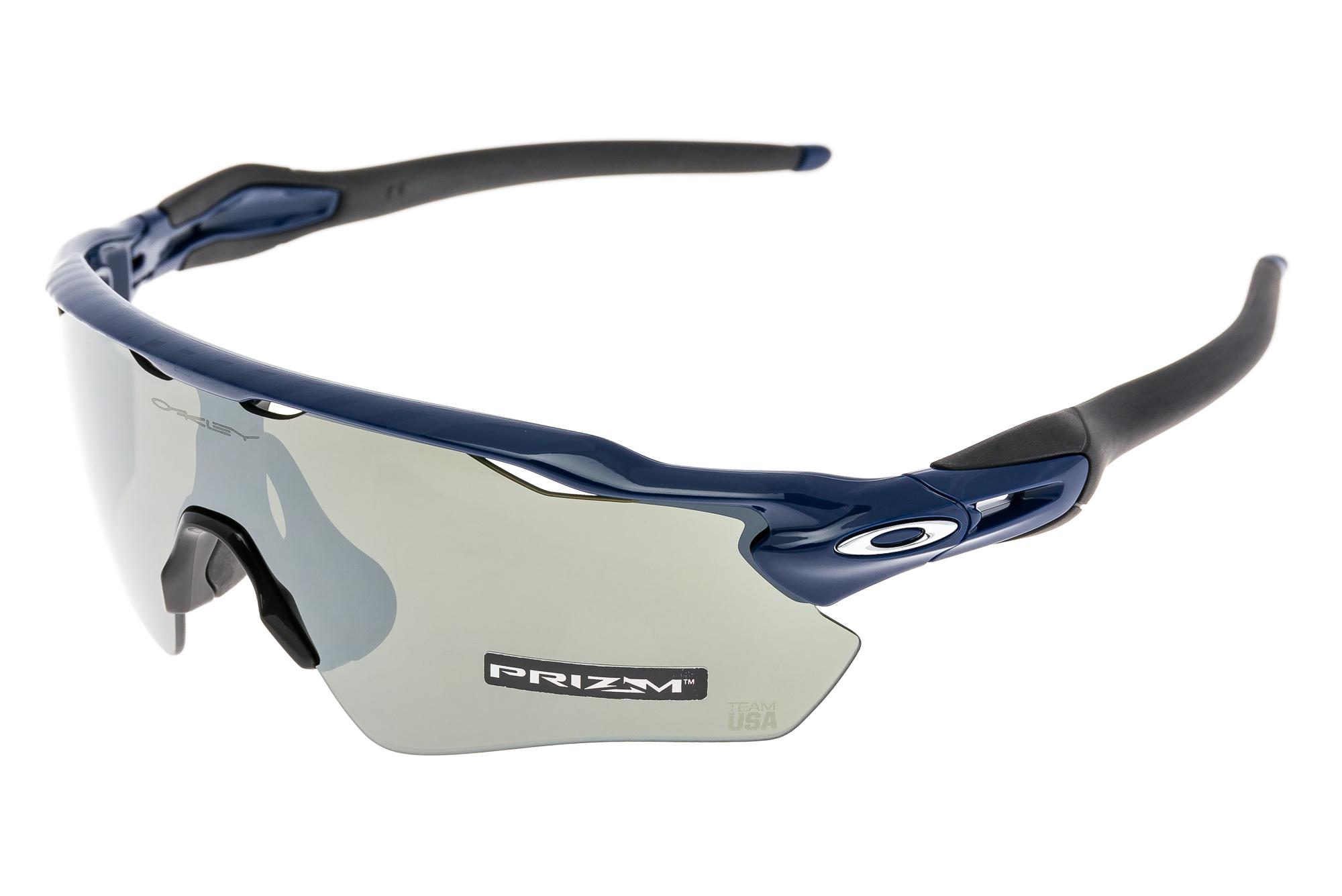 db57835137 Details about Oakley Radar EV Path Team USA Sunglasses Navy Frame Prizm  Black Iridium Lens