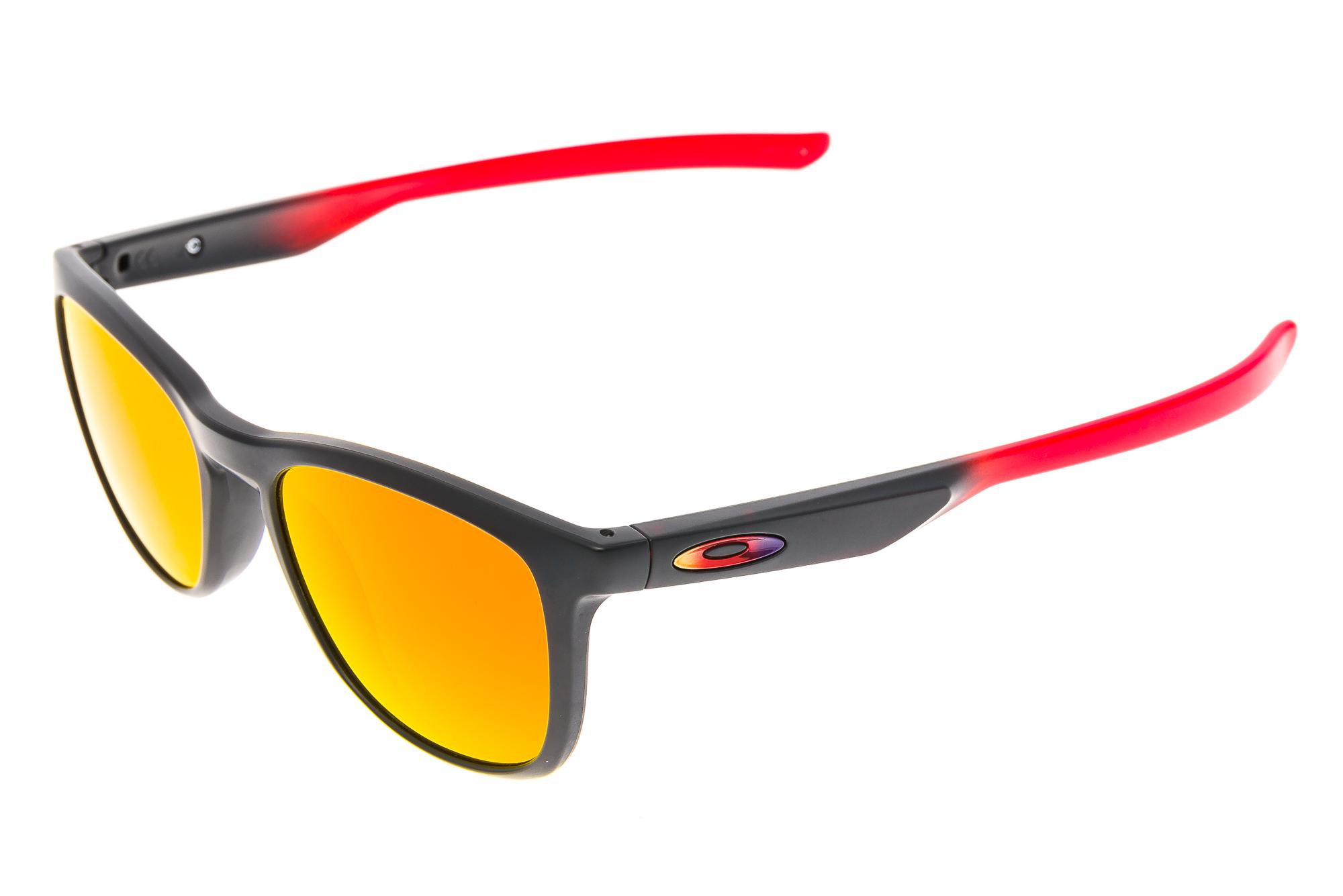 105db09b606 Details about Oakley Trillbe X Sunglasses Black Red Frame Prizm Lens