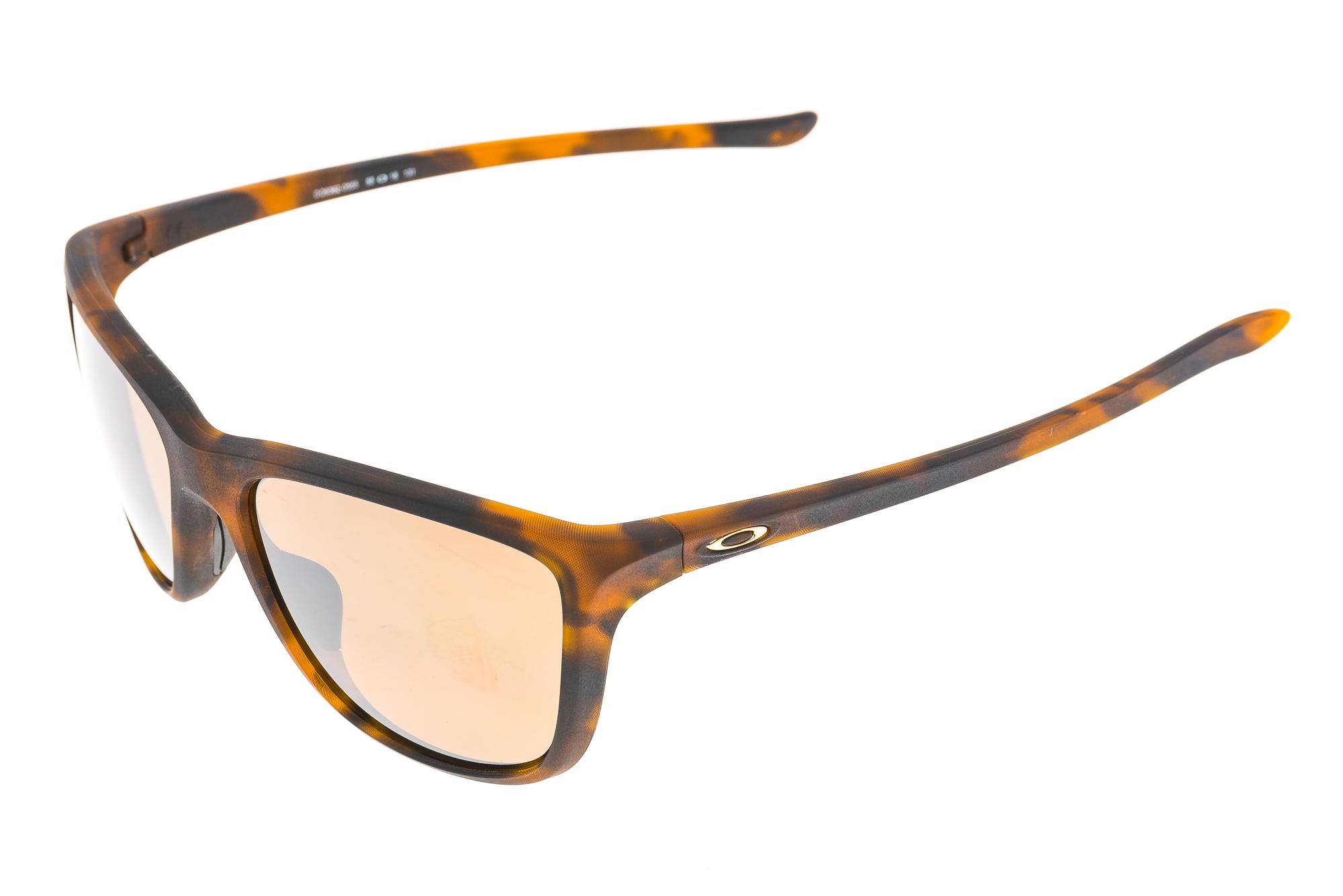 4de8661a8e951 Details about Oakley Reverie Womens Sunglasses Tortoise Frame Brown  Polarized Lens