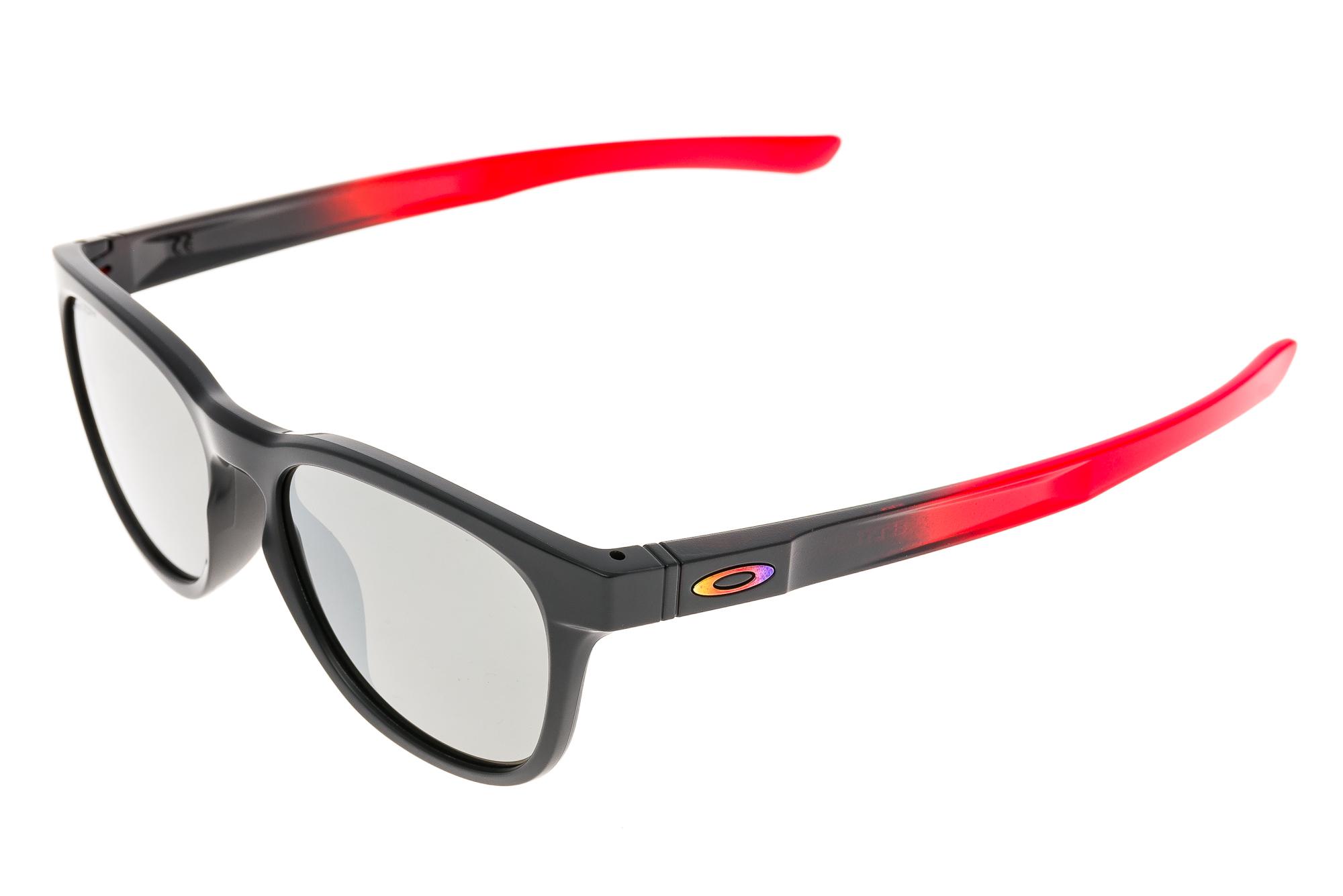 027bc8ea9ef Details about Oakley Stringer Sunglasses Matte Ruby Fade Frame Prizm Black  Lens