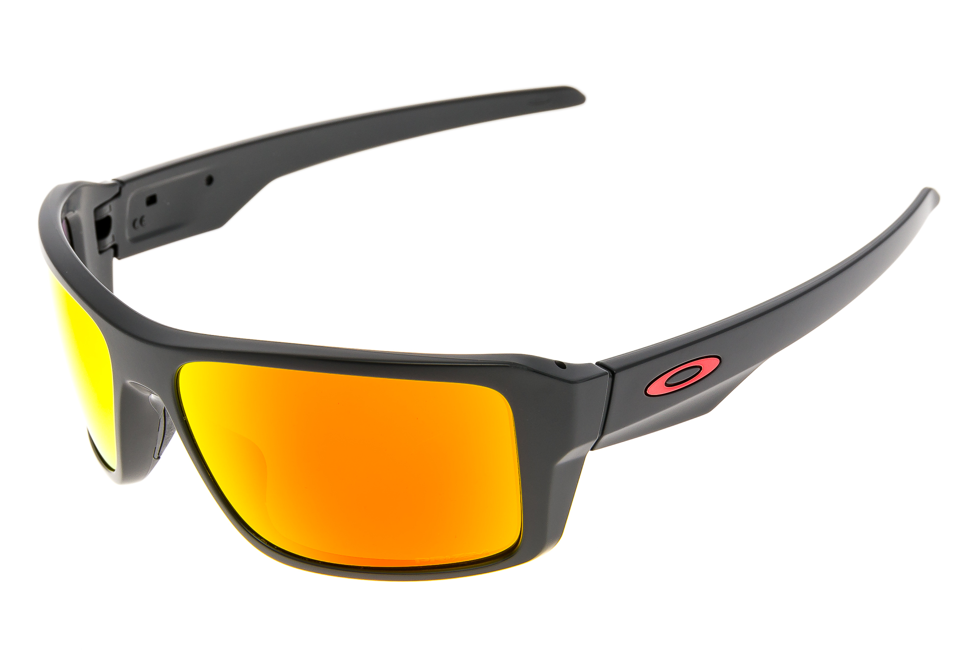 2945673d05 Oakley Double Edge Sunglasses Matte Black Frame Prizm Ruby Polarized ...