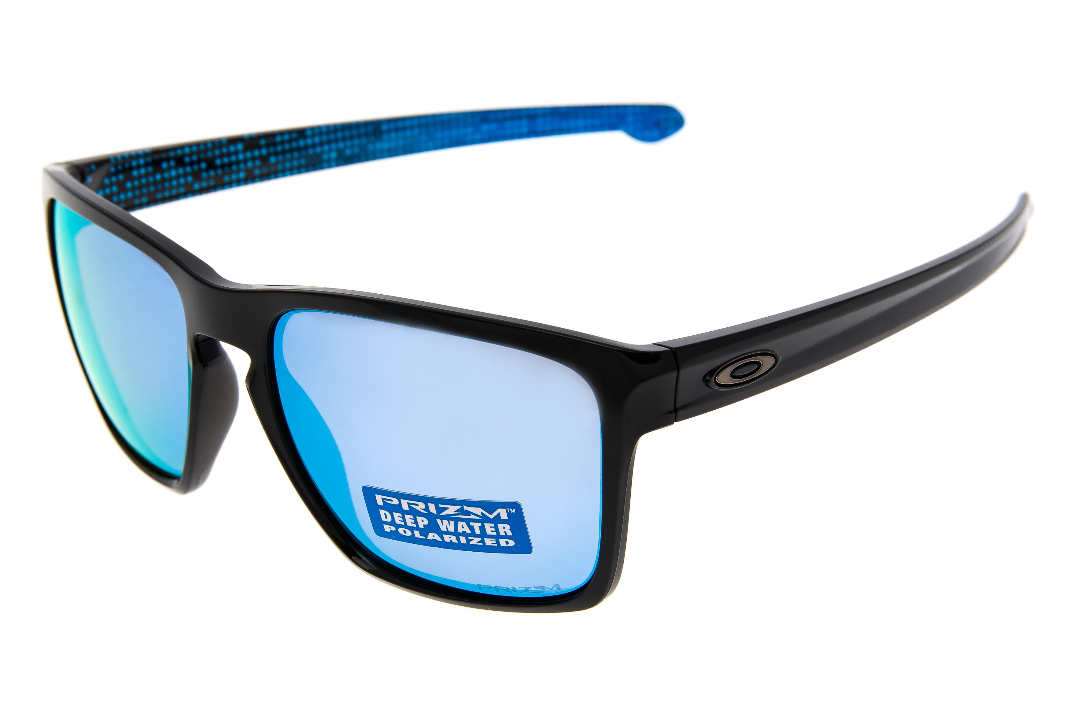 f2c1540d8f Details about Oakley Sliver XL Sunglasses Polished Black Frame Prizm Deep  Water Polarized Lens
