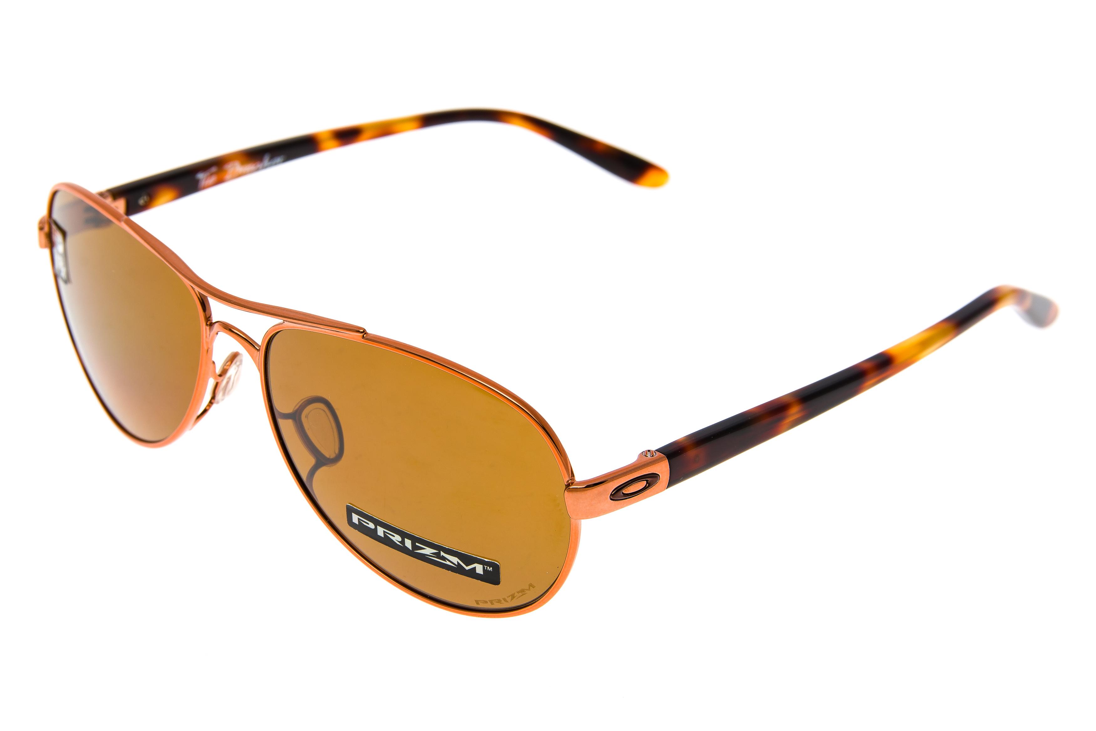3b8da6d32cb Oakley Tie Breaker Sunglasses Rose Gold Frame Prizm Tungsten Polarized Lens