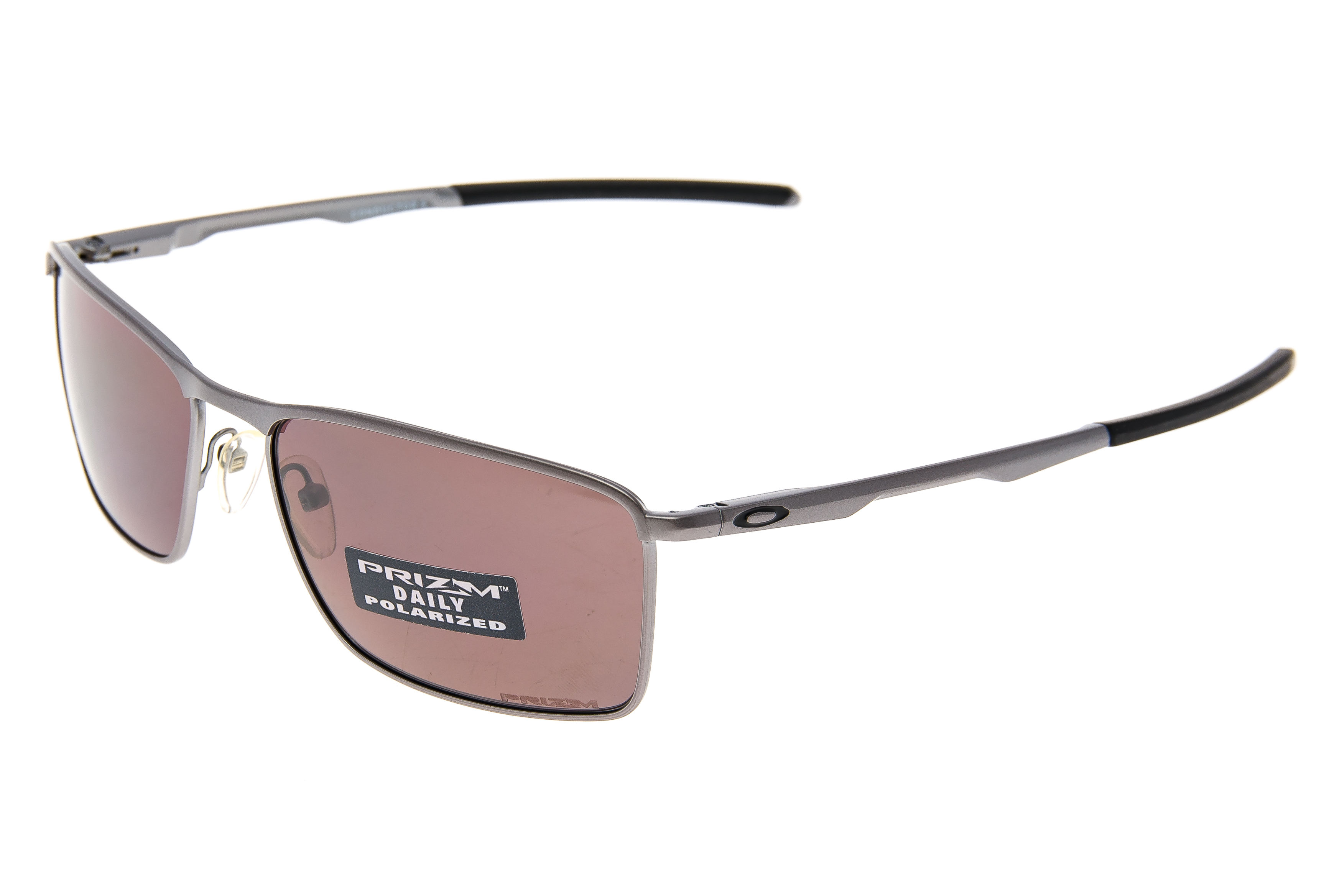 5561fcbee01 Details about Oakley Conductor 6 Sunglasses Silver Frame Prizm Daily  Polarized Lens