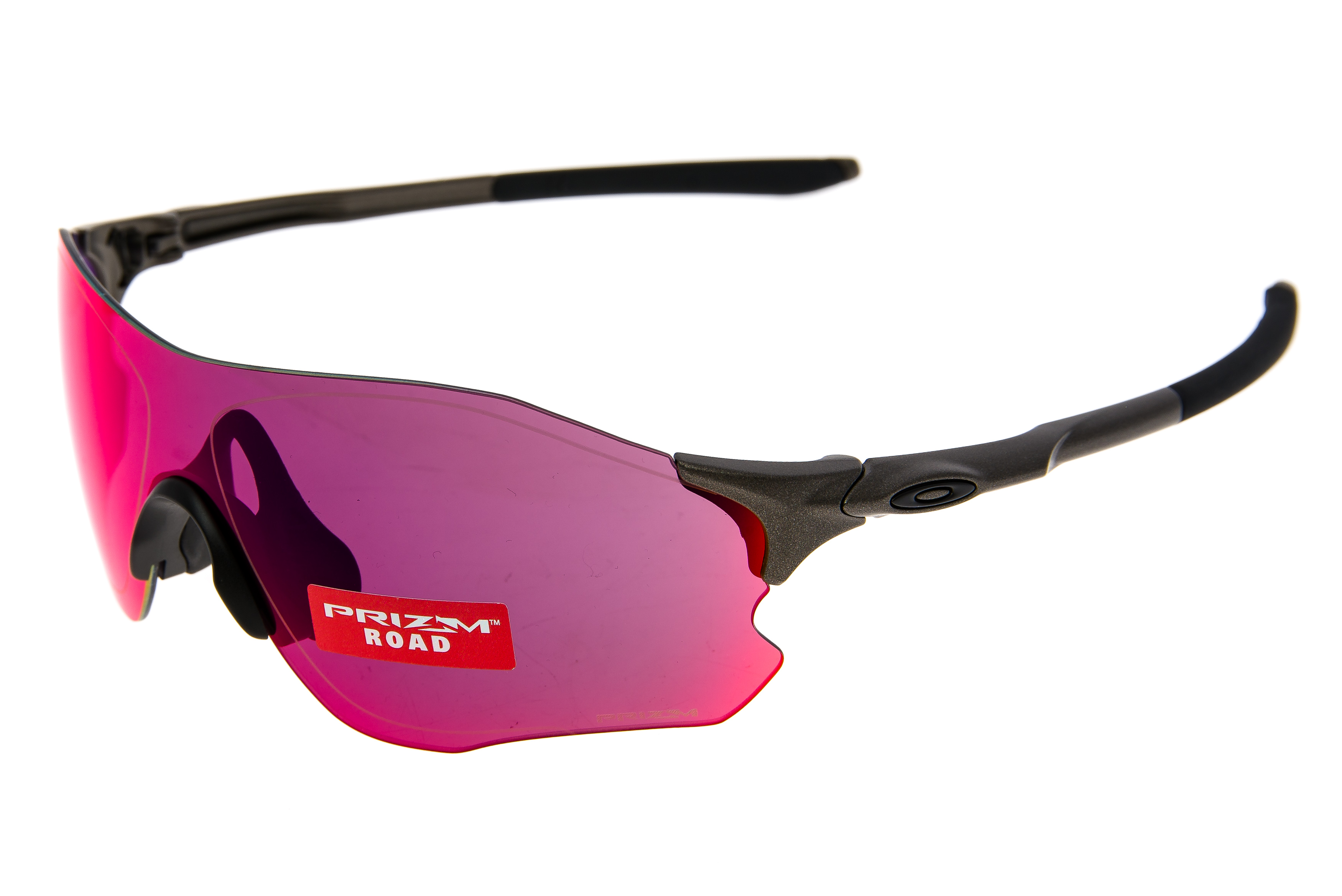 93b23d4451 Details about Oakley EVZero Path Sunglasses Matte Gray Frame Prizm Road Lens