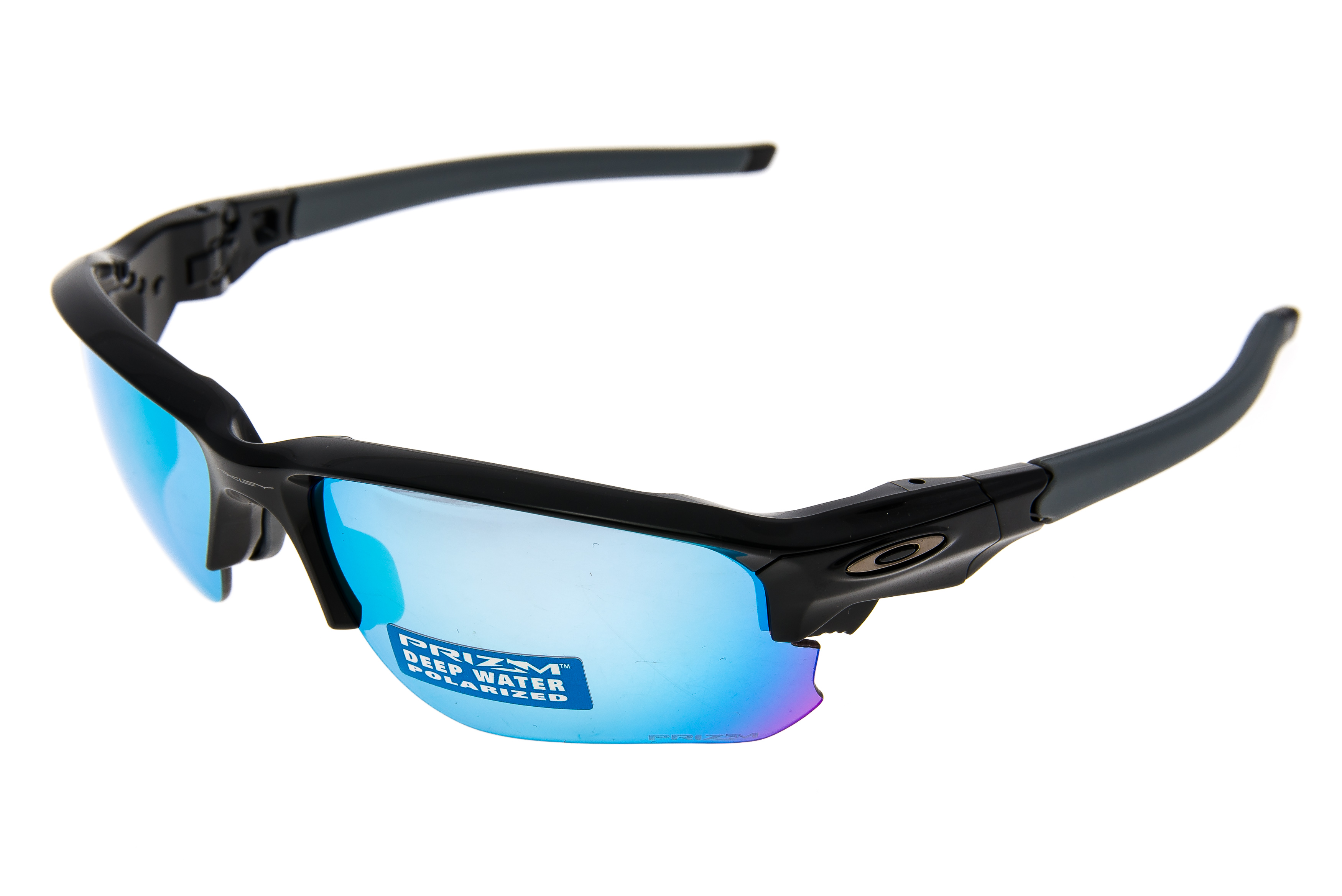 82d2a63b834 Details about Oakley Flak Draft Sunglasses Polished Black Frame Prizm  Polarized - Excellent