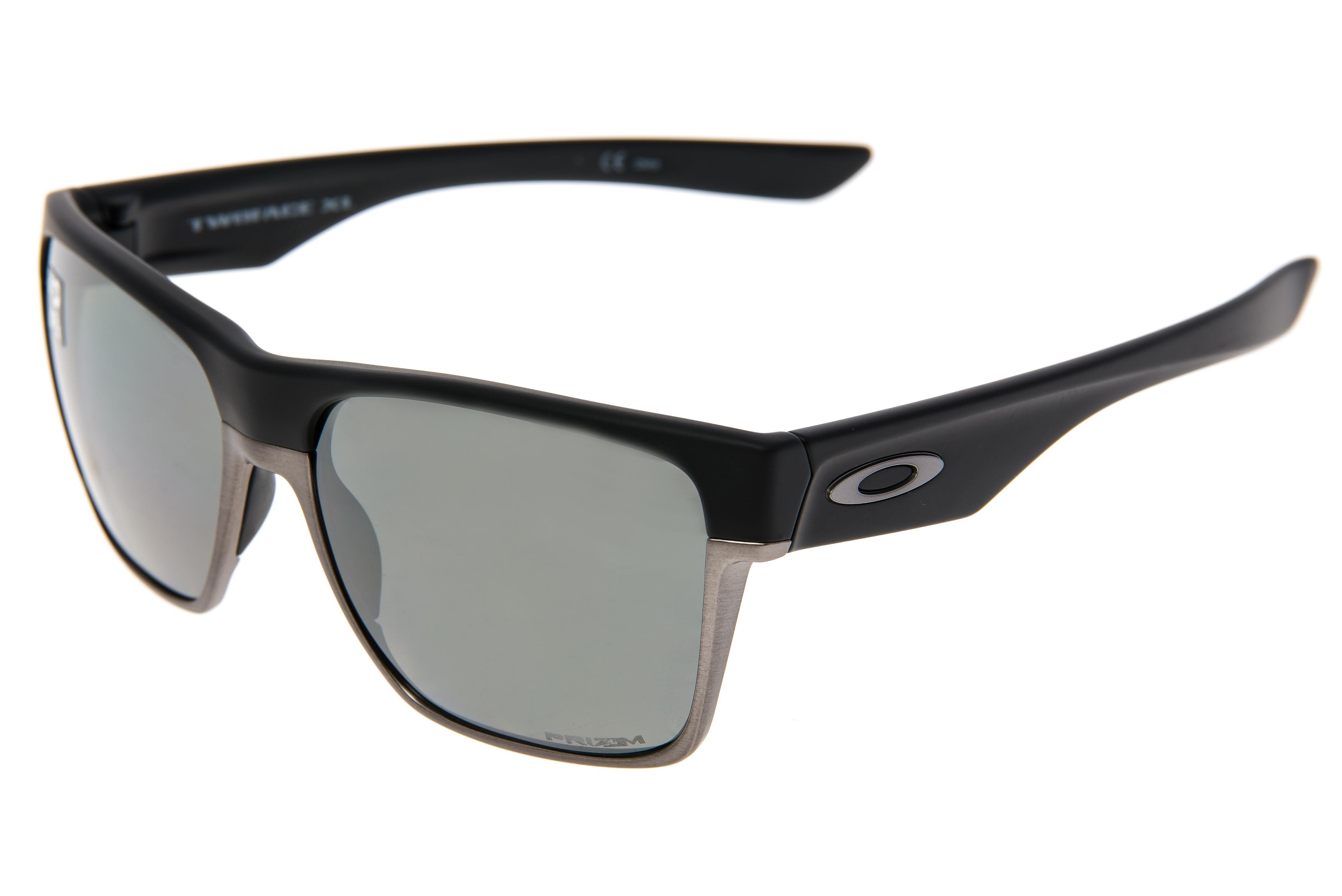 f32b9ad0c42 Details about Oakley TwoFace XL Sunglasses Matte Black Frame Prizm Polarized  Lens - Excellent