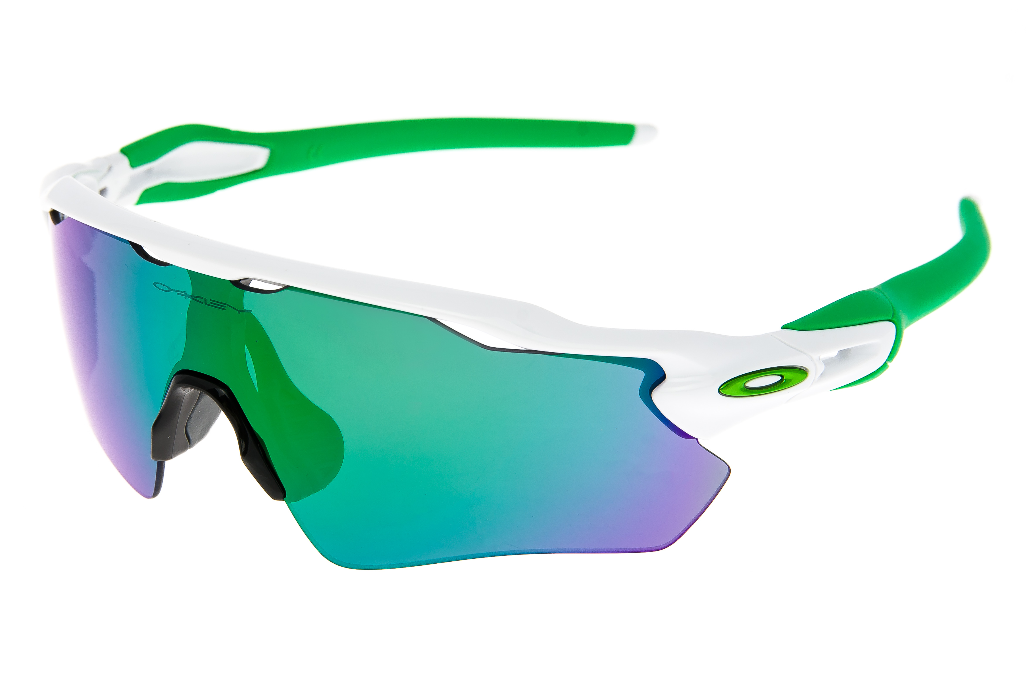 e4fcfcabfd5 Details about Oakley Radar EV Path Sunglasses Polished White Green Frame  Jade Iridium Lens