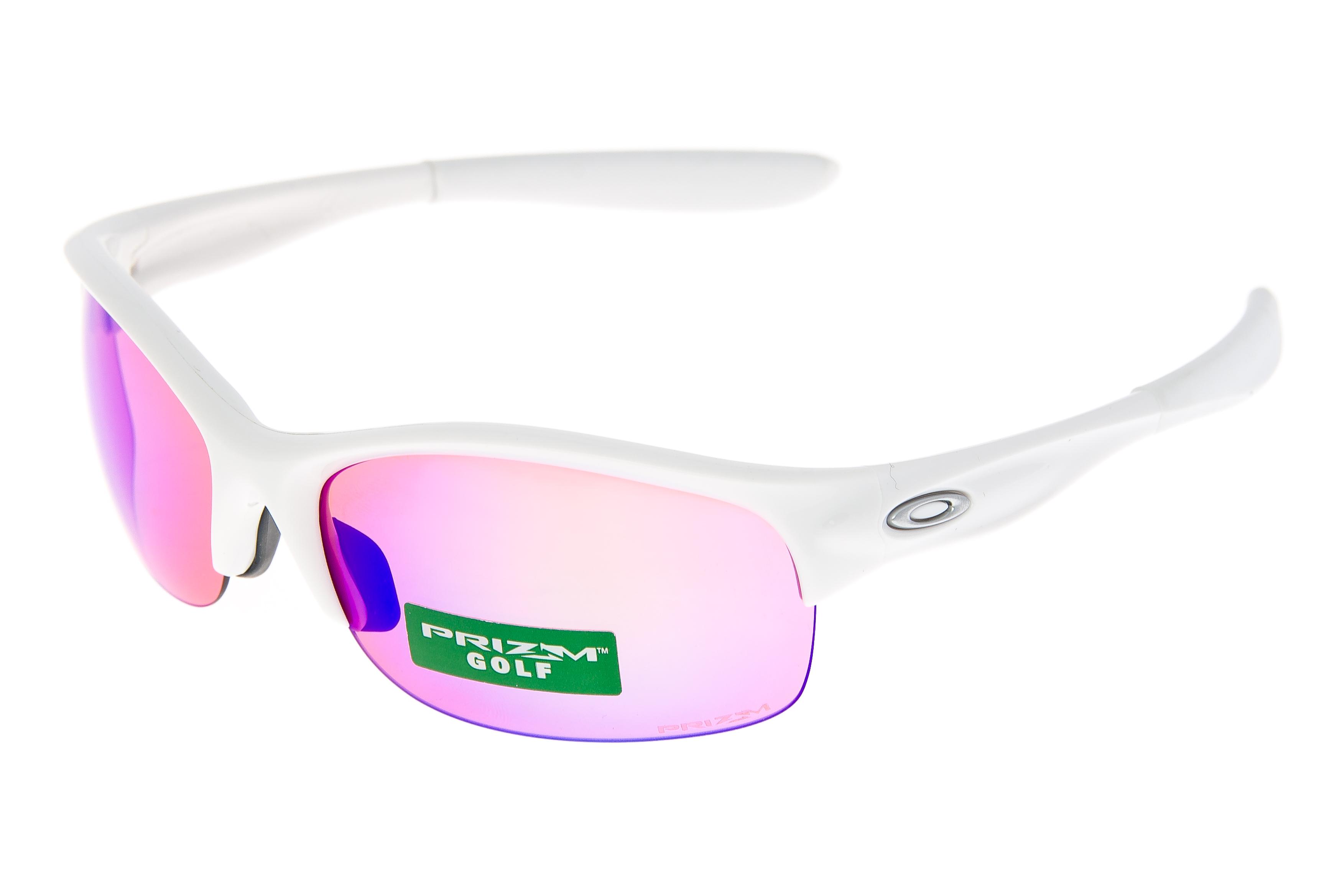 5dc8e0483bc Oakley Commit SQ Womens Sunglasses Polished White Frame Prizm Golf Lens
