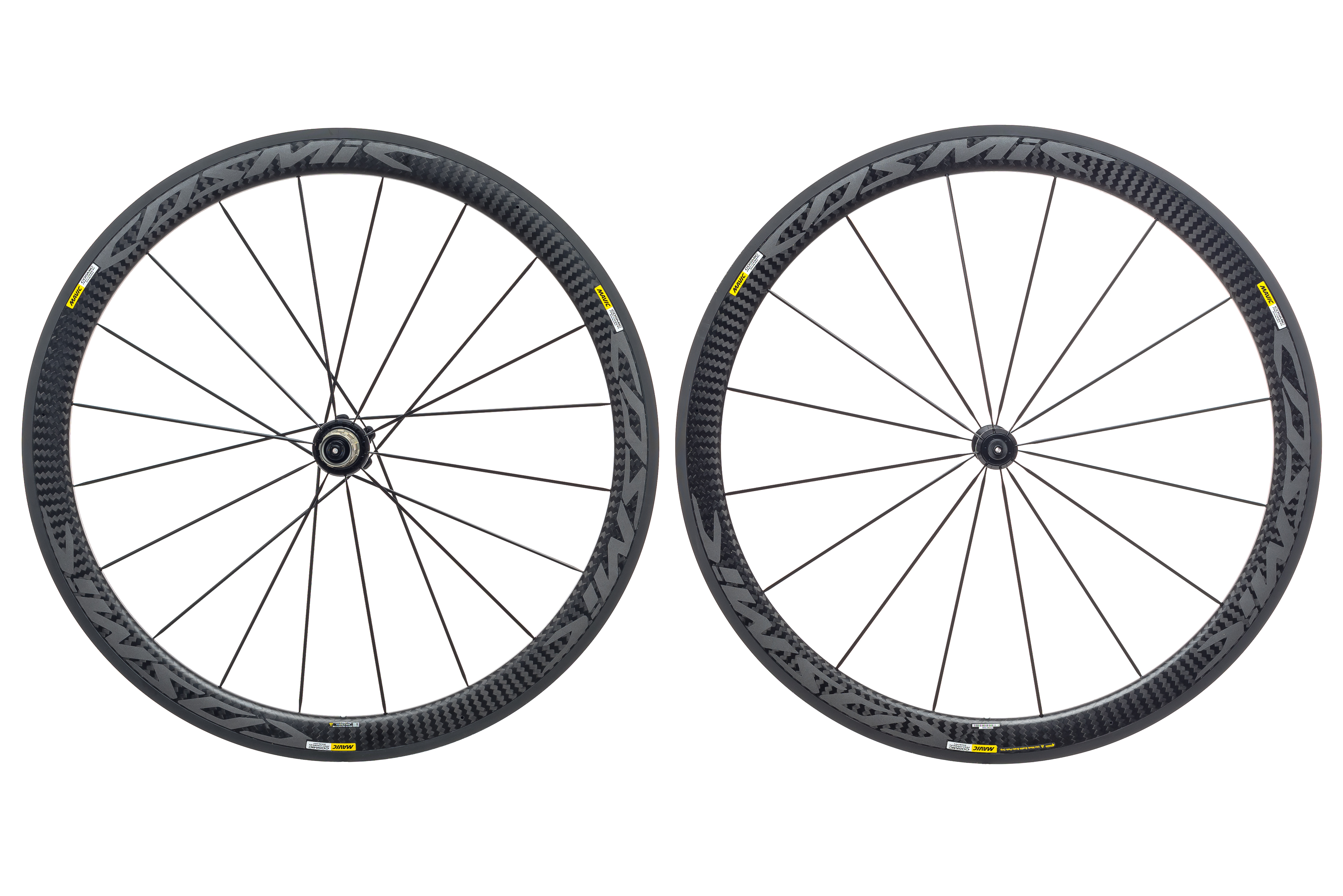 595d49901e8 Mavic Cosmic Pro Carbon Exalith Road Bike Wheel Set 700c Clincher Shimano  11s
