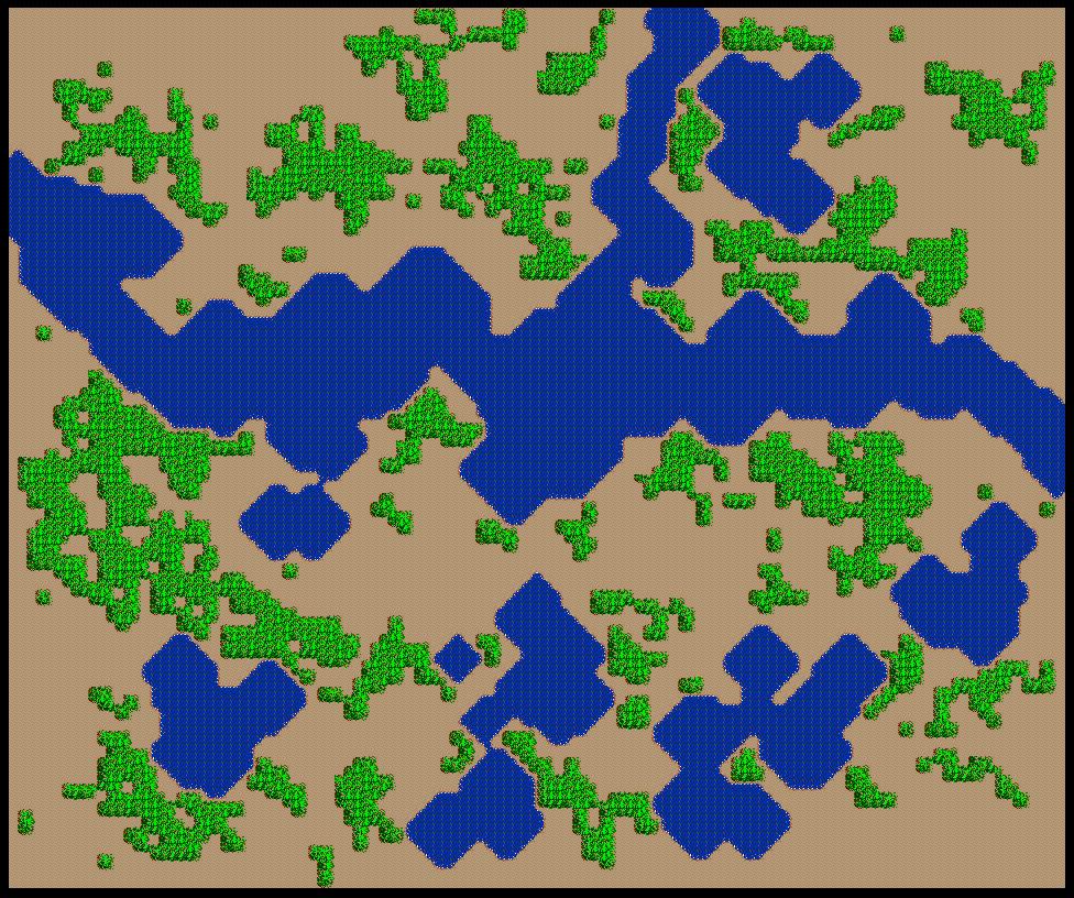 SimCity SNES Map 009